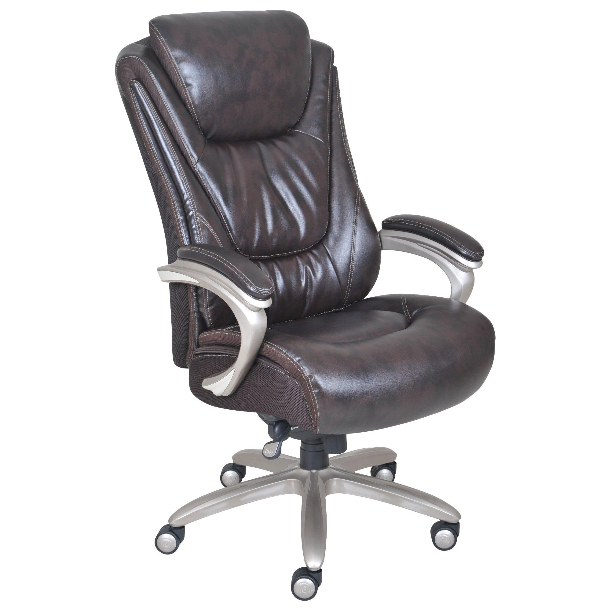 Serta At Home Blissfully Executive Chair Reviews Wayfair