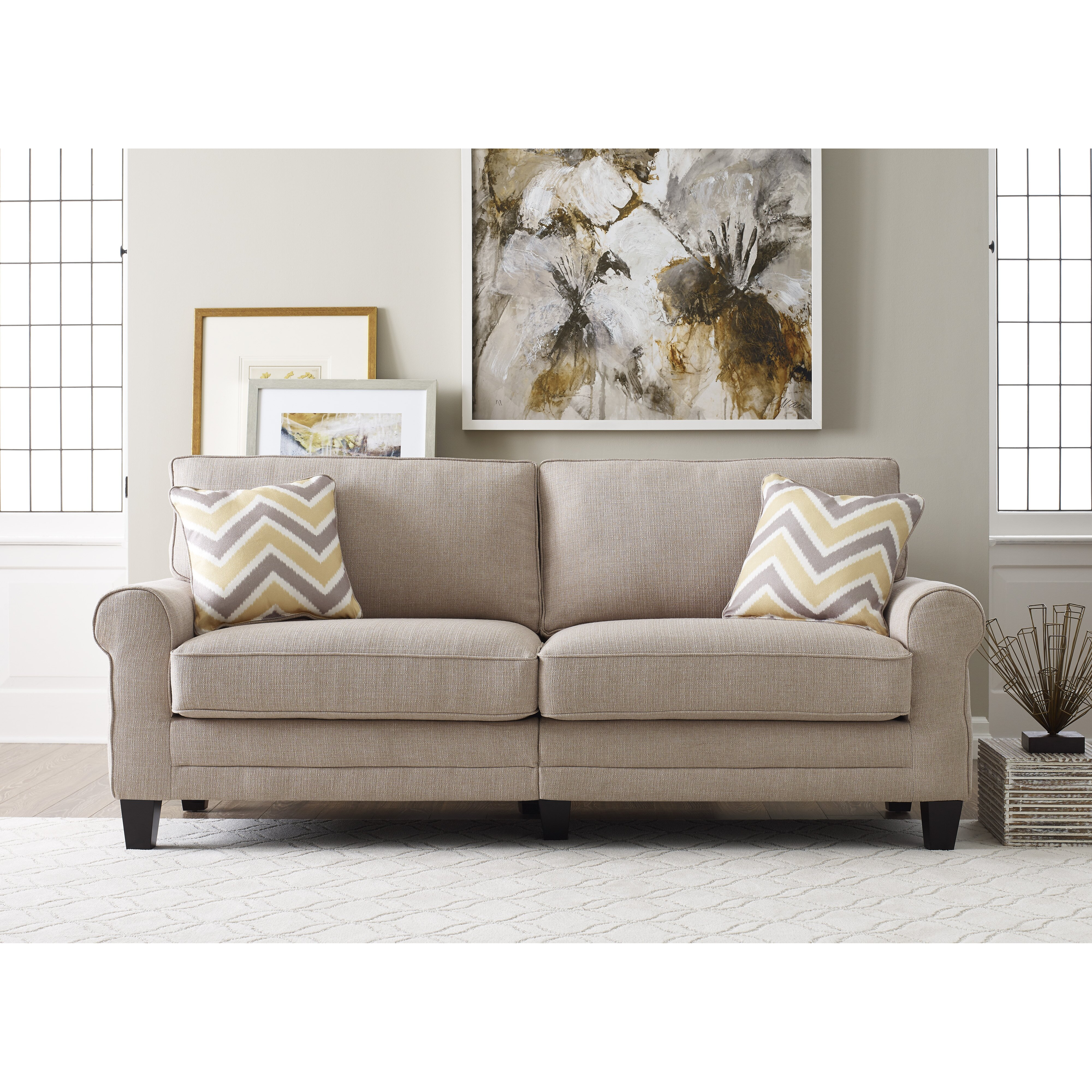 Serta At Home Serta Rta Copenhagen Sofa Reviews Wayfair Supply
