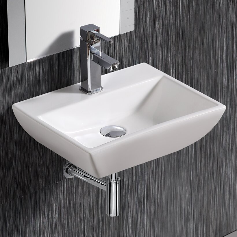 Sink Attached To Wall : Home Improvement Bathroom Fixtures ... Elanti Part #: 1409 SKU ...