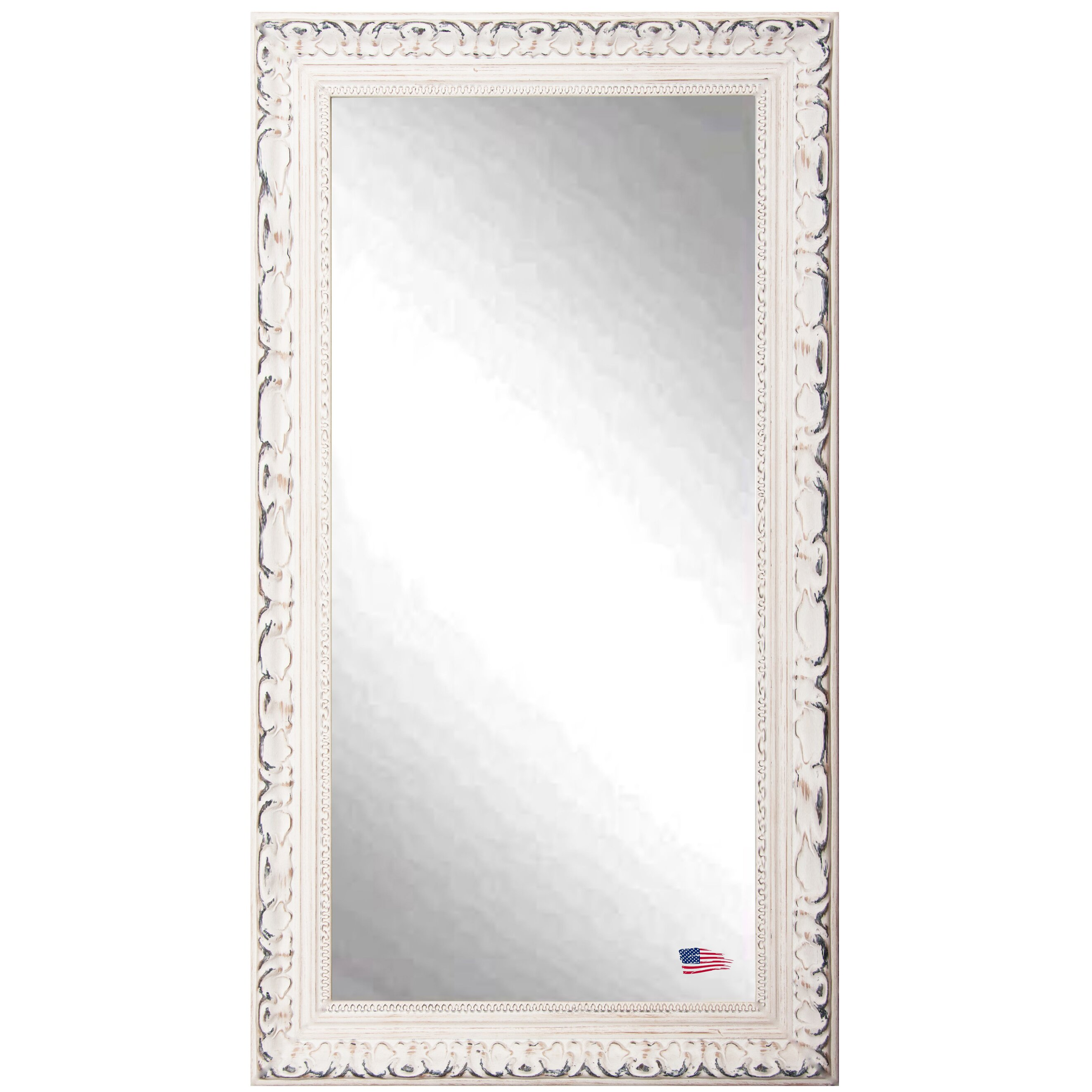 One allium way arnett french victorian wall mirror for Wall size mirror