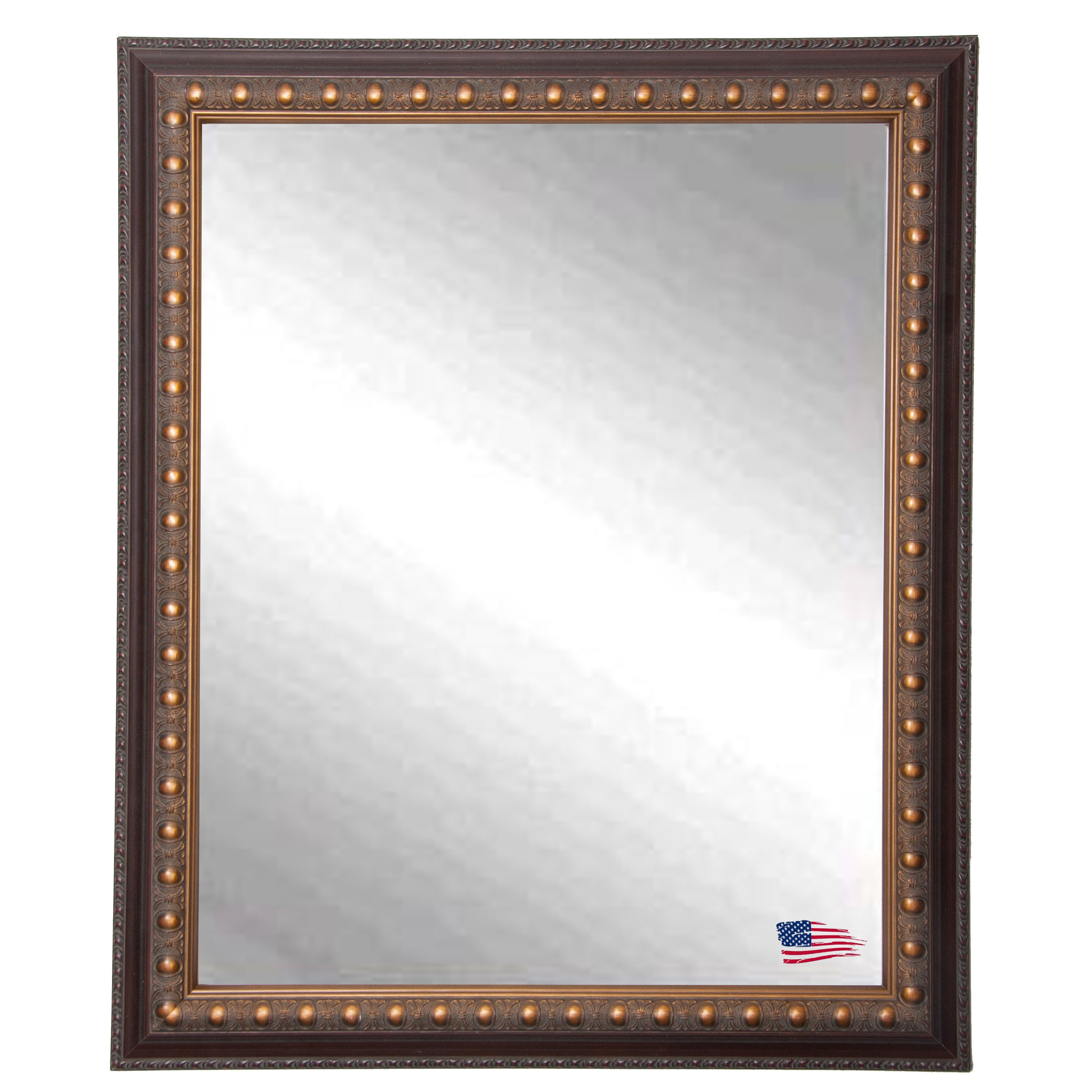 Rayne mirrors ava classic wall mirror reviews wayfair for Classic mirror