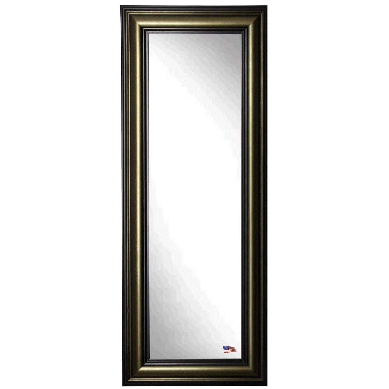 Rayne Mirrors Ava Stepped Antique Full Length Body Mirror