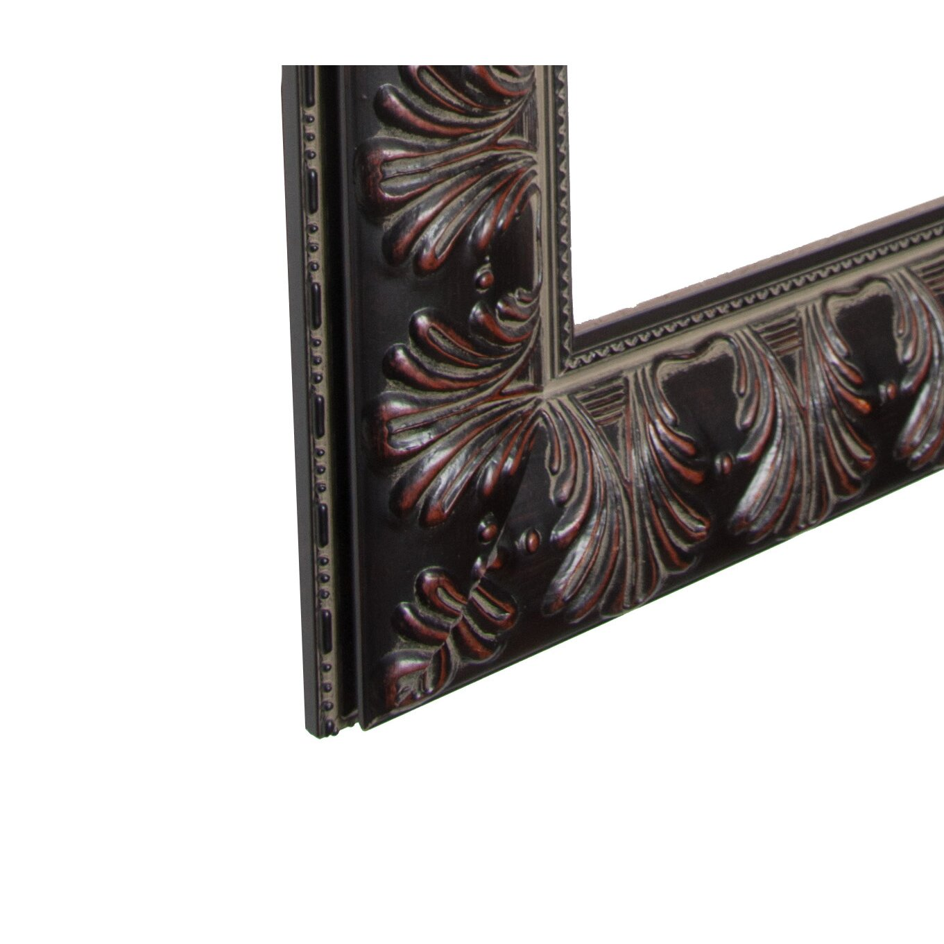 Rayne mirrors ava feathered accent wall mirror reviews for Accent mirrors