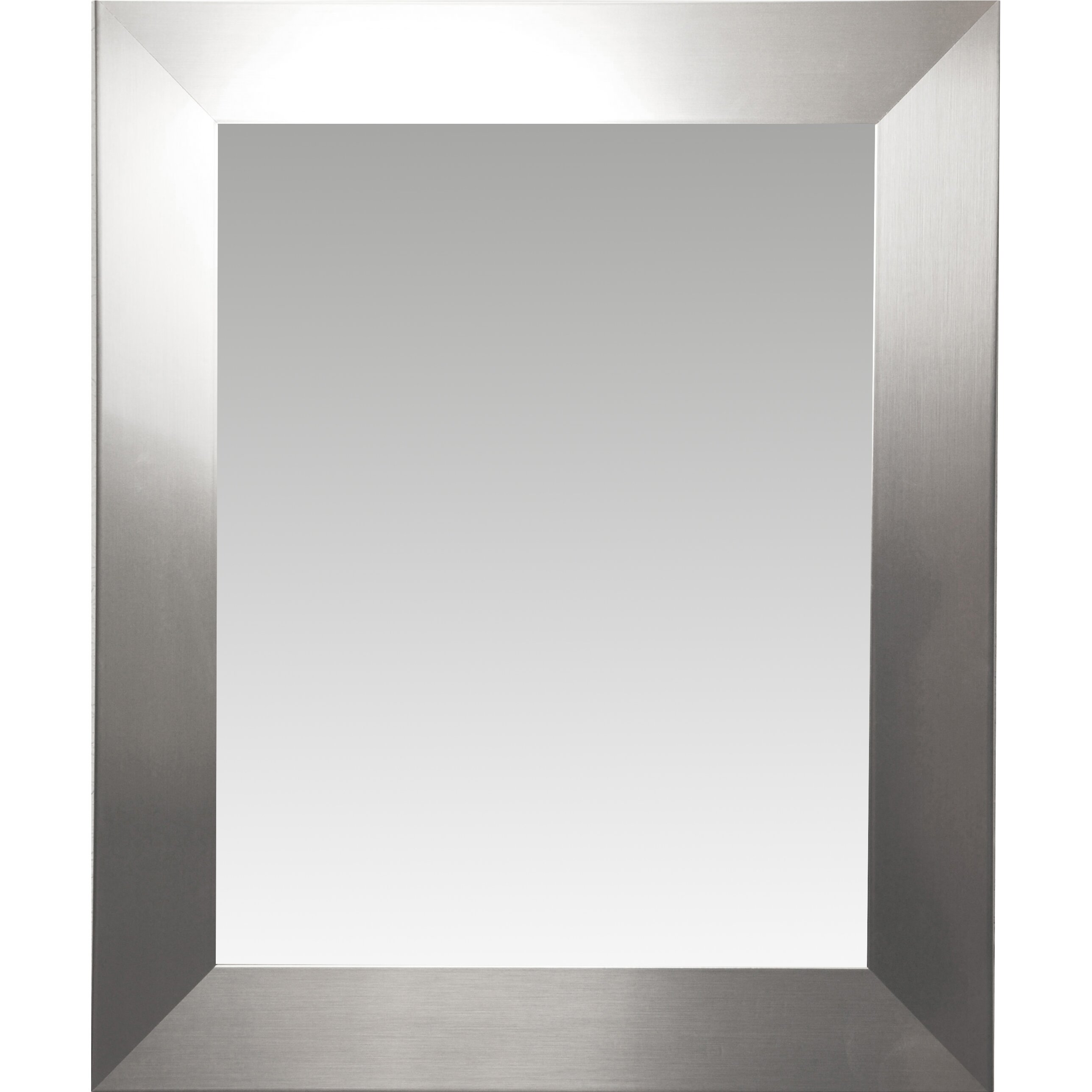 Rayne mirrors ava modern wall mirror reviews wayfair for Mirror video