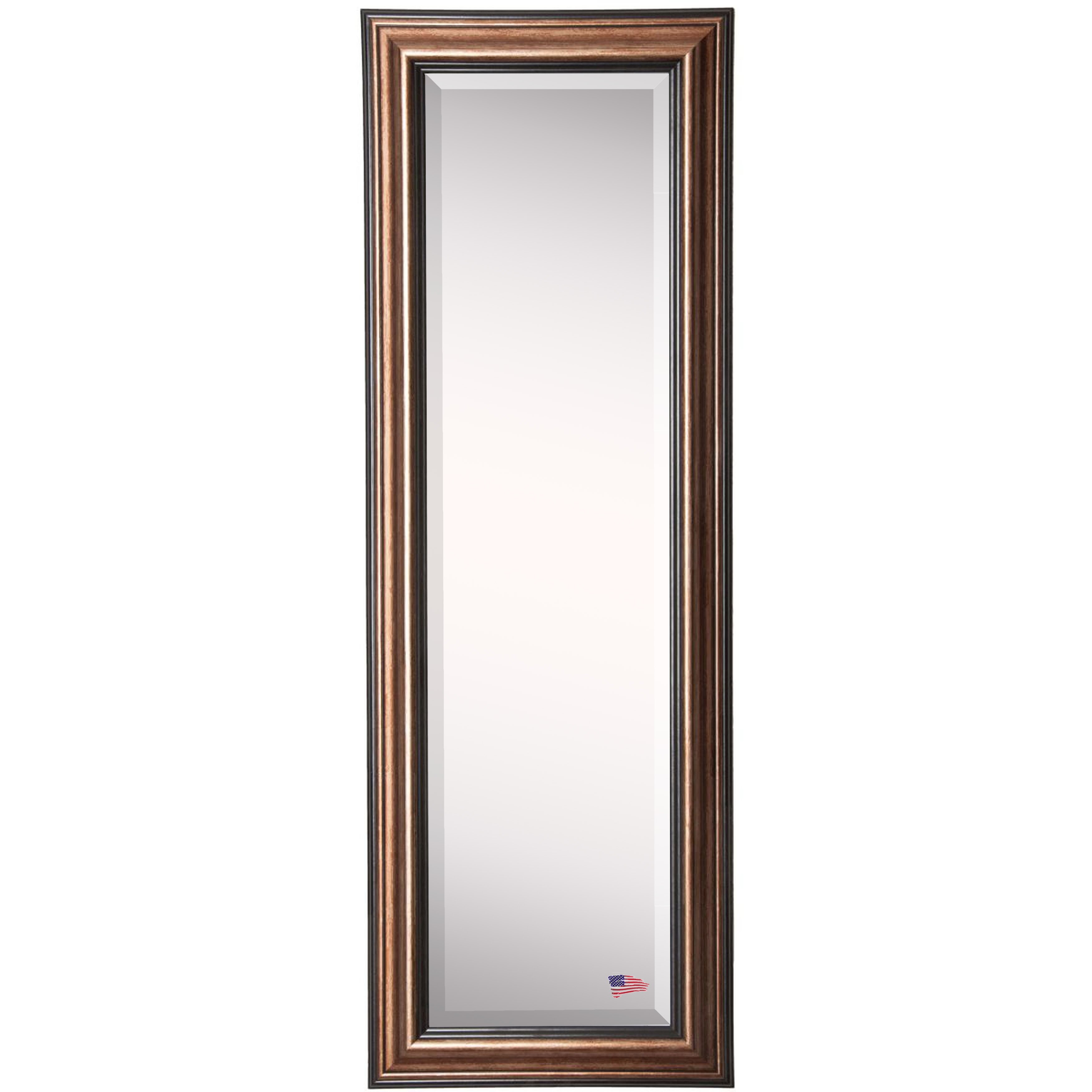 Rayne mirrors jovie jane traditional bronze full length for Traditional mirror