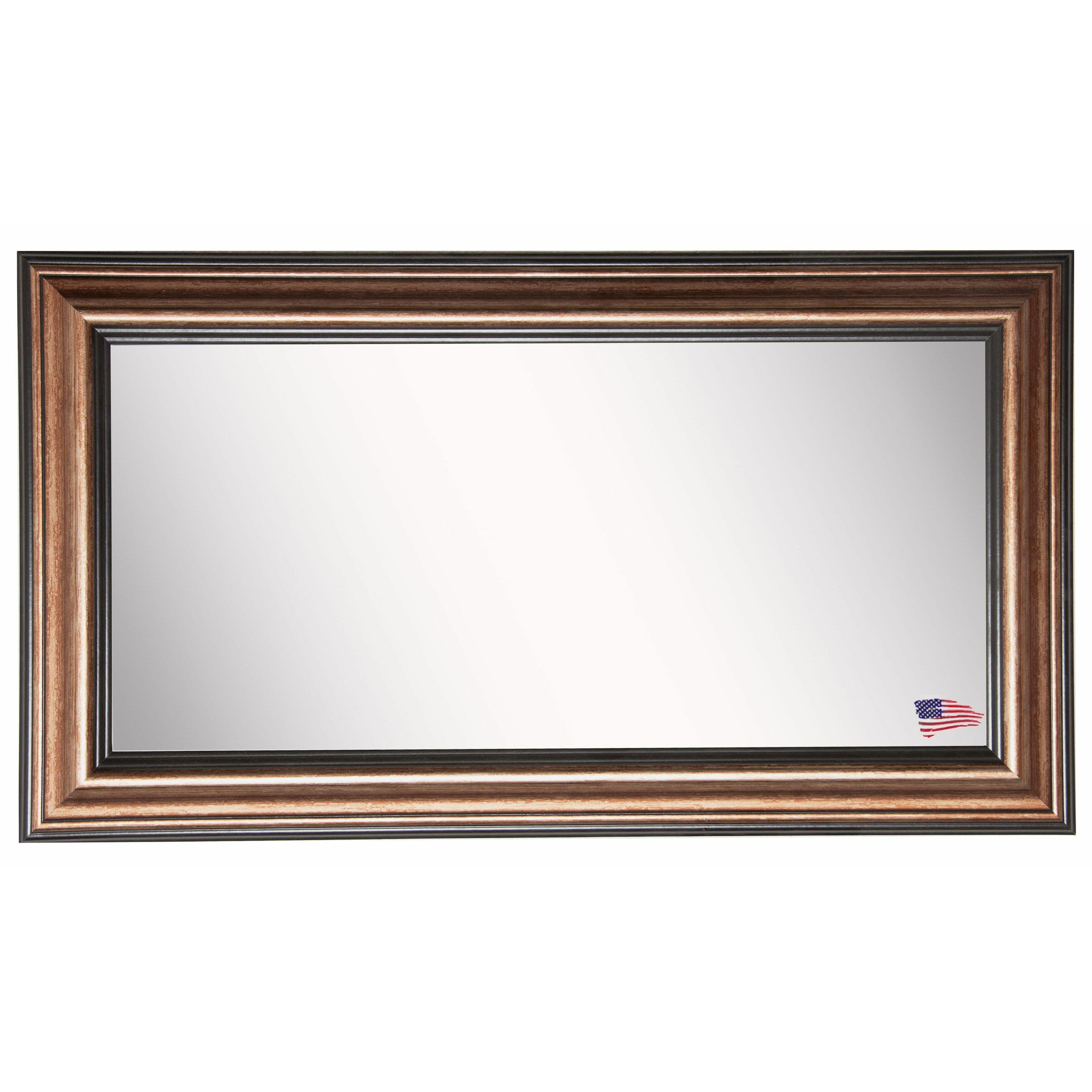 Rayne mirrors canyon double vanity wall mirror amp reviews wayfair