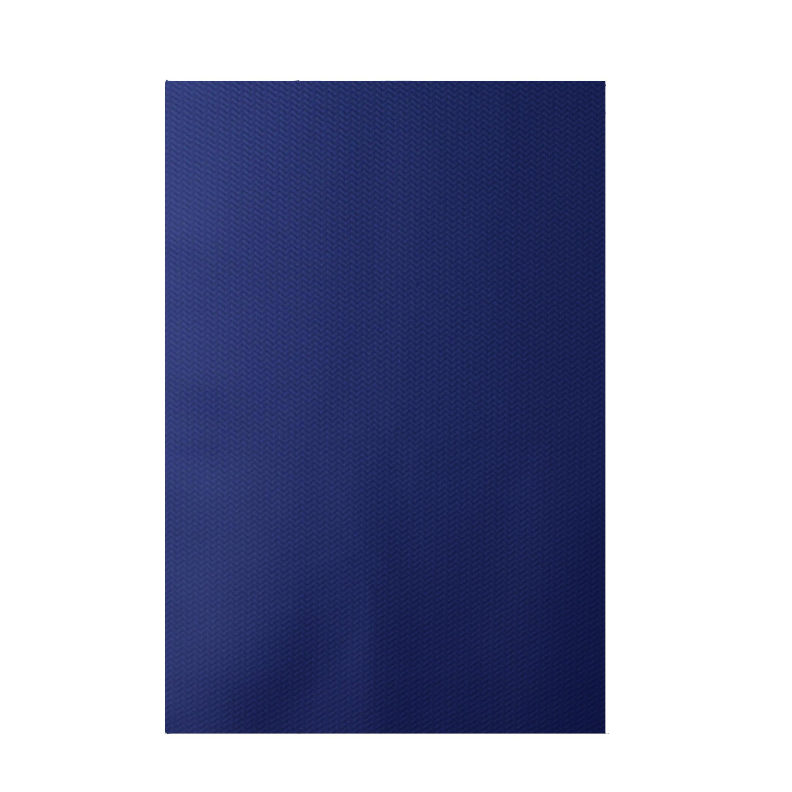 Royal Blue Outdoor Rug Chevron Indoor Area