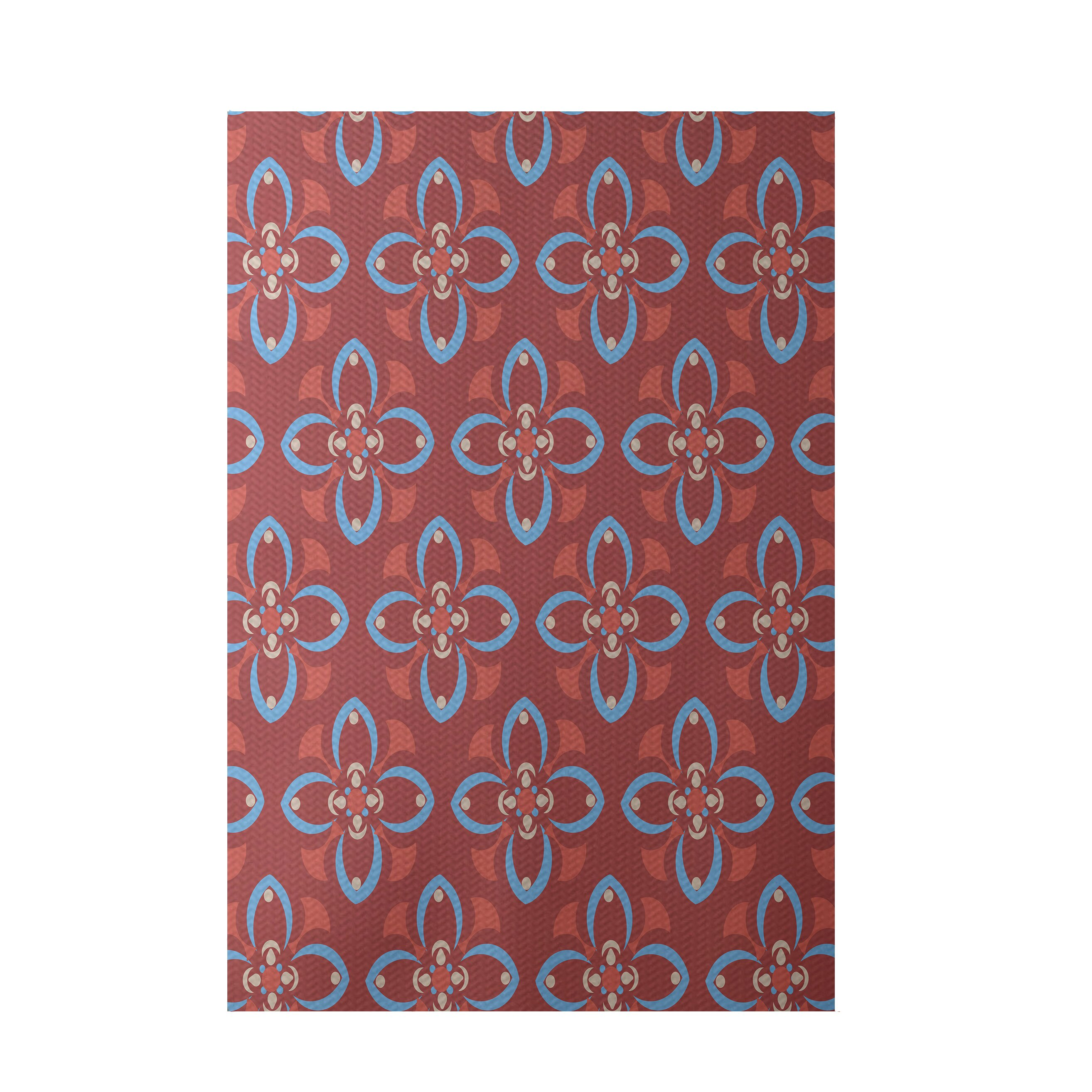 e by design Coral Indoor Outdoor Area Rug