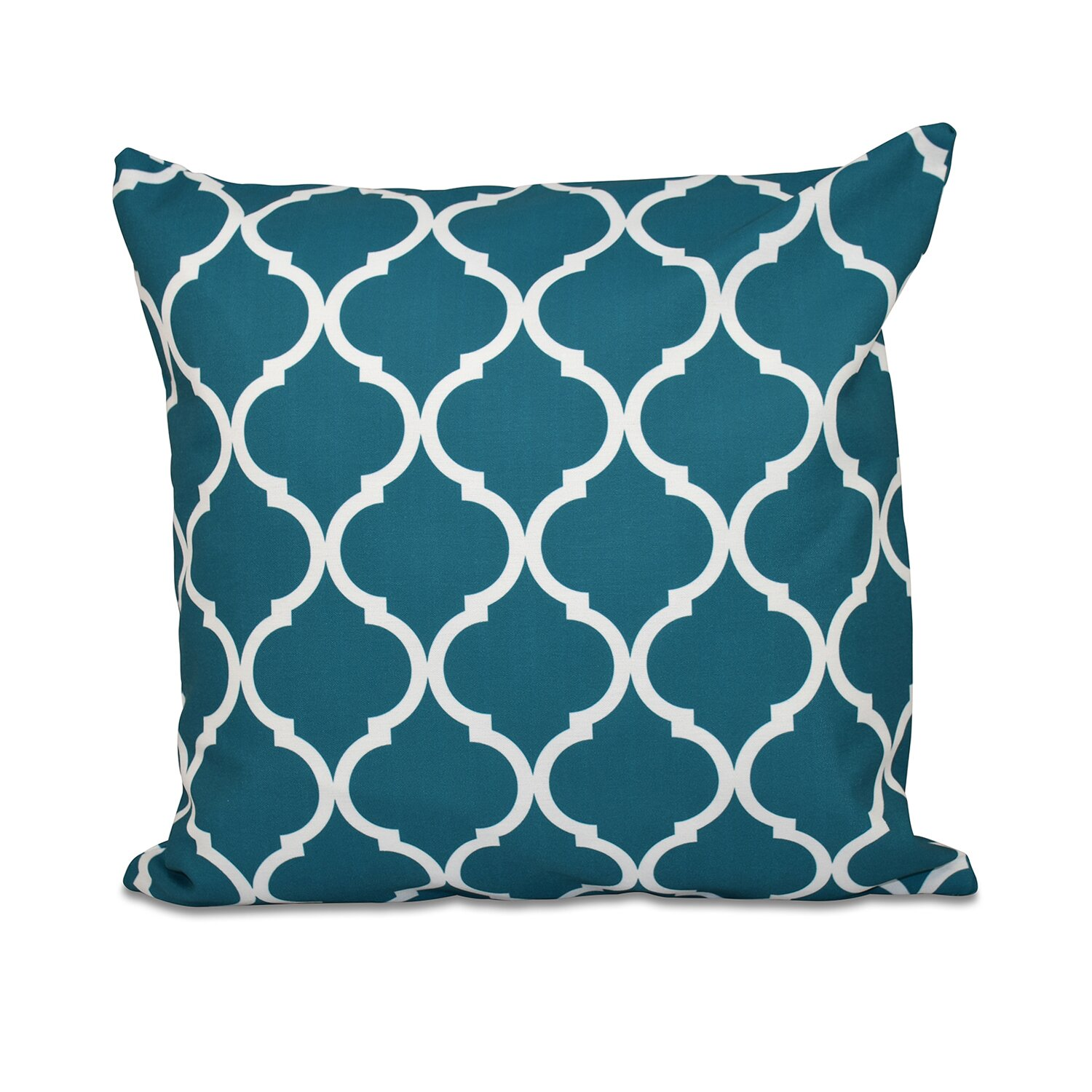 Throw Pillow In French : e by design French Quarter Geometric Print Throw Pillow & Reviews Wayfair