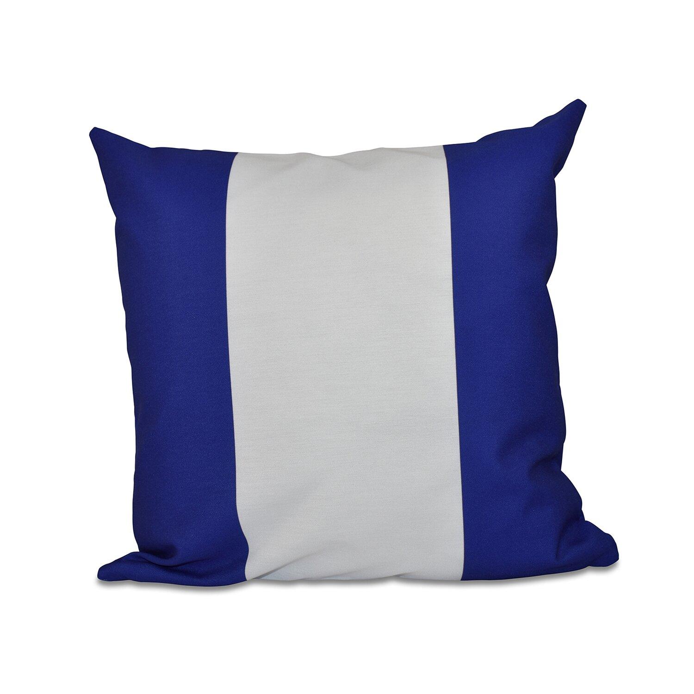 Throw Pillow Fillers : e by design Big Stripe Vertical Faux Down Fill Throw Pillow & Reviews Wayfair