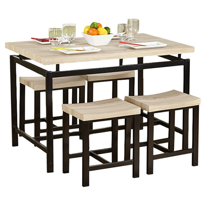 tms delano 5 piece dining set reviews wayfair