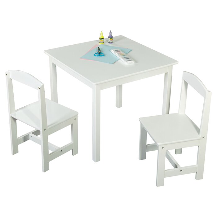 Tms Hayden 3 Piece Kids Square Table Amp Chair Set Amp Reviews