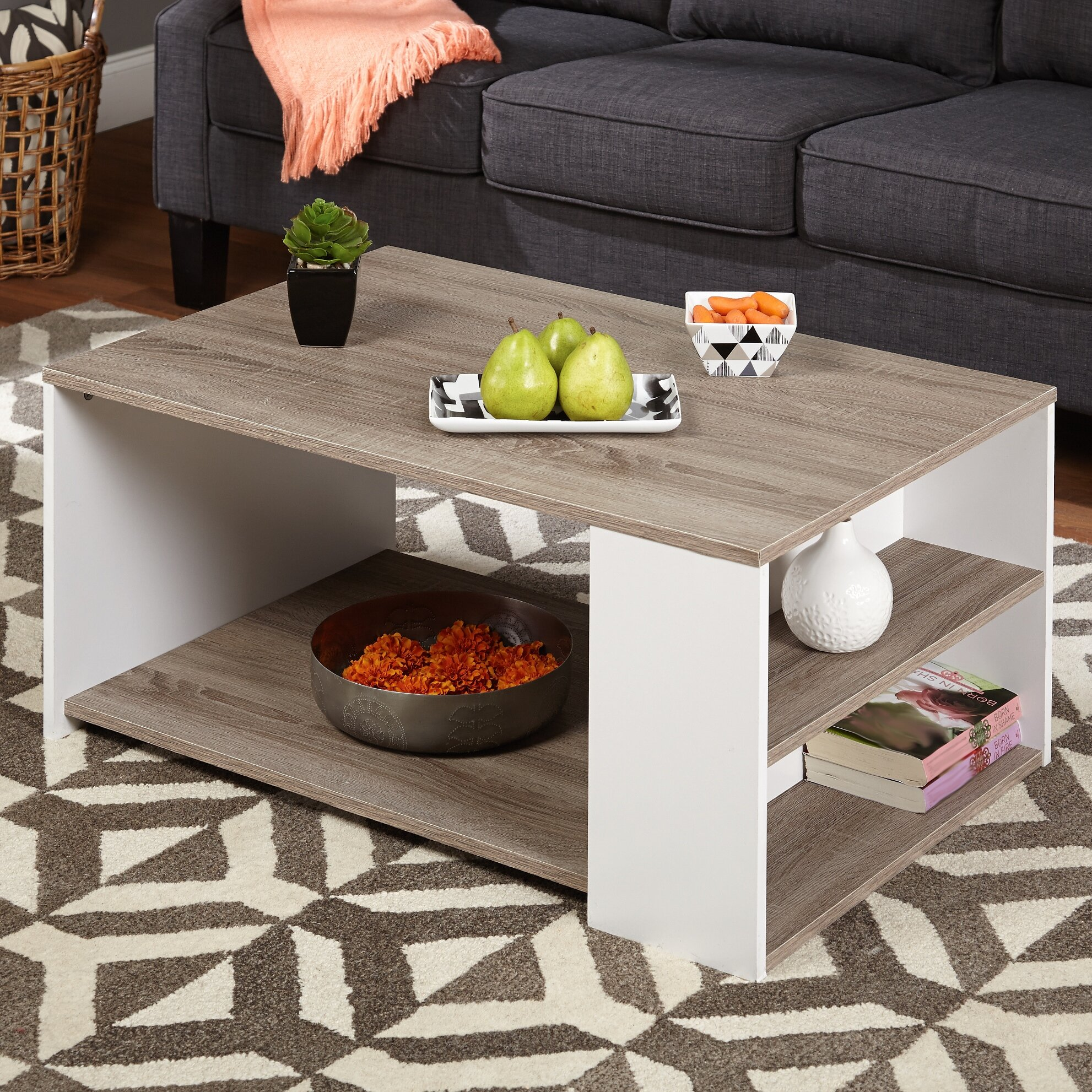 Tms Urban Coffee Table Amp Reviews Wayfair