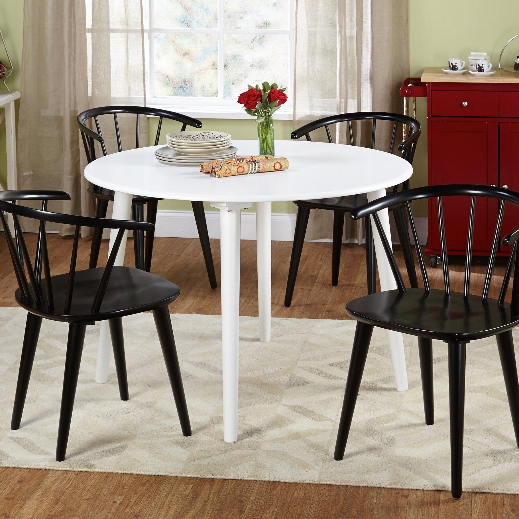 TMS Florence 5 Piece Dining Set Reviews Wayfair