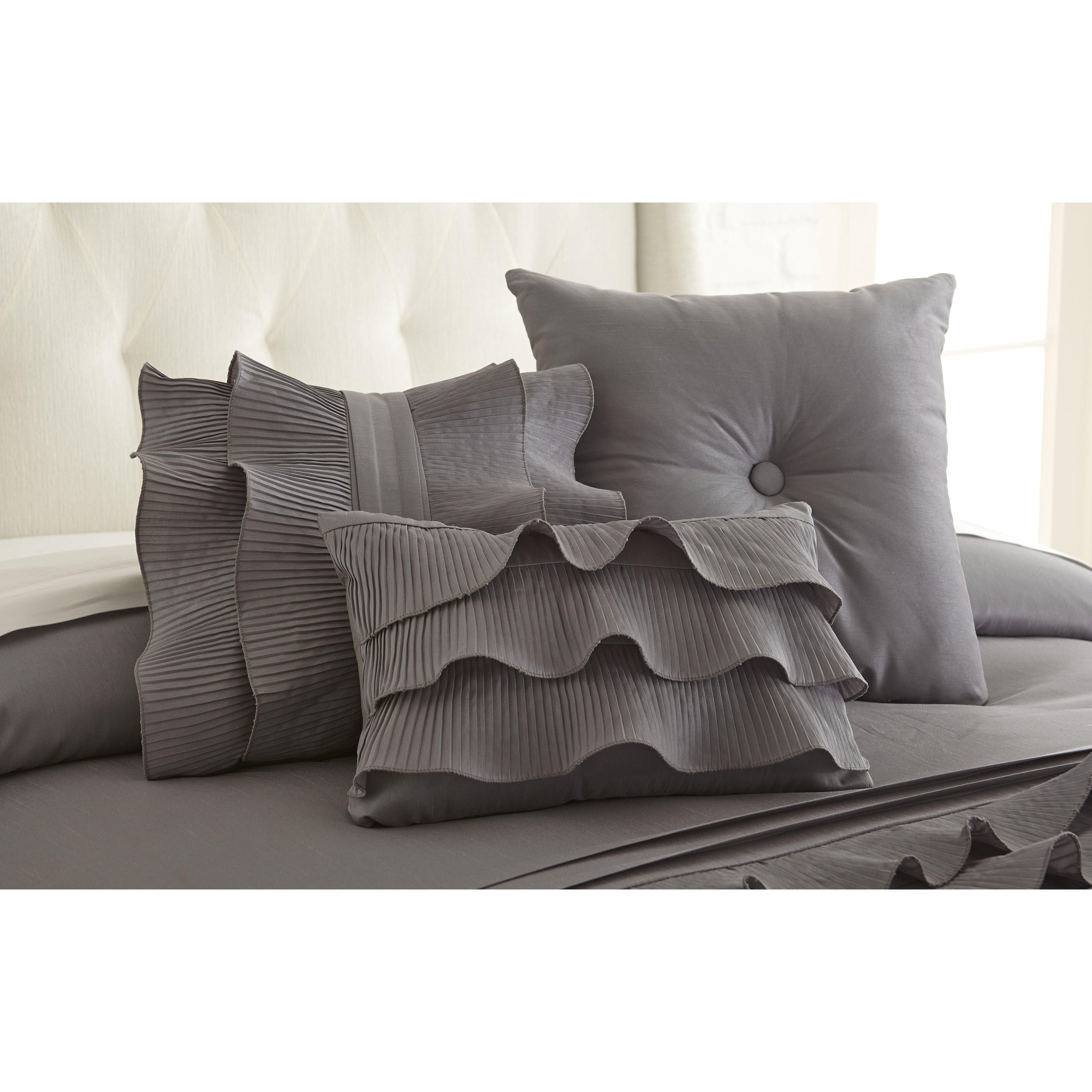 Decorative Pillow Sets : Amrapur Mandalay Bay 3 Piece Decorative Cotton Breakfast and Throw Pillow Set & Reviews Wayfair