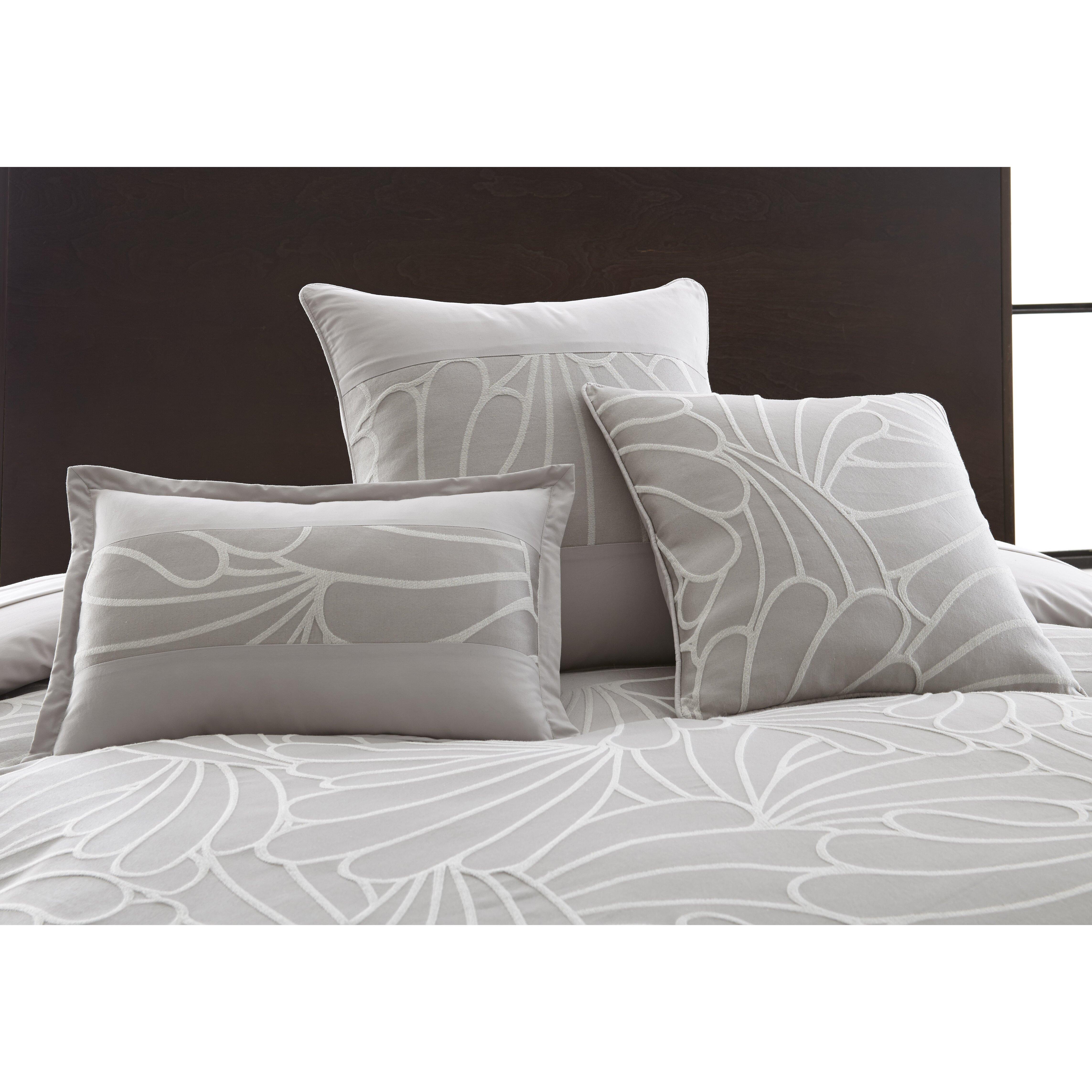 Decorative Pillow Sets : Amrapur Mandalay Bay 3 Piece Kate Jacquard Decorative Cotton Breakfast and Throw Pillow Set ...