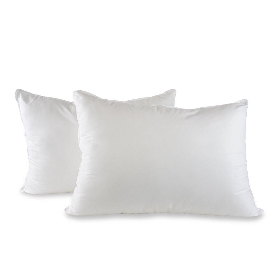 Amrapur jumbo alternative bed pillow reviews wayfair for Bed pillows reviews