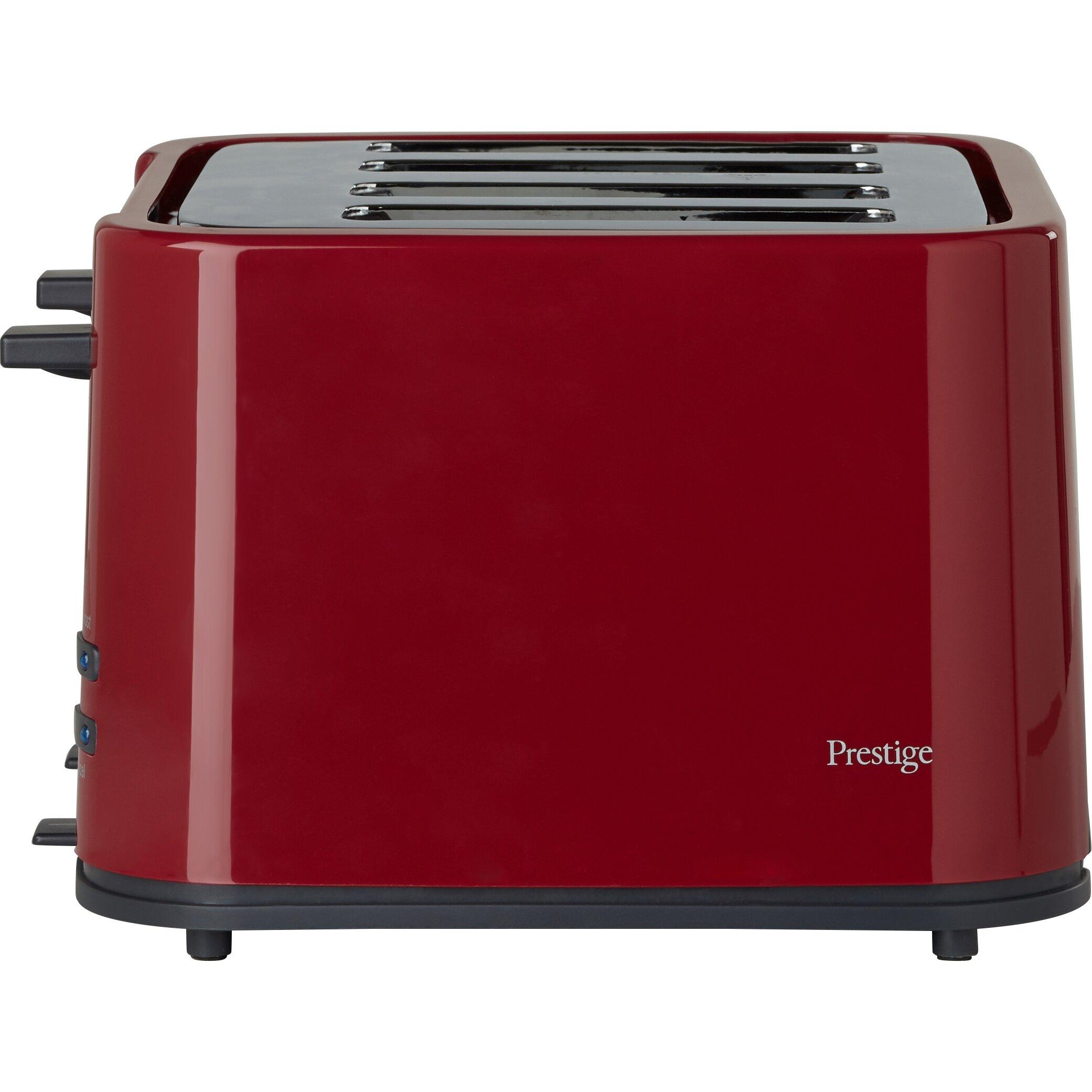 Glass Toaster 4 Slice ~ Prestige eco slice toaster reviews wayfair uk
