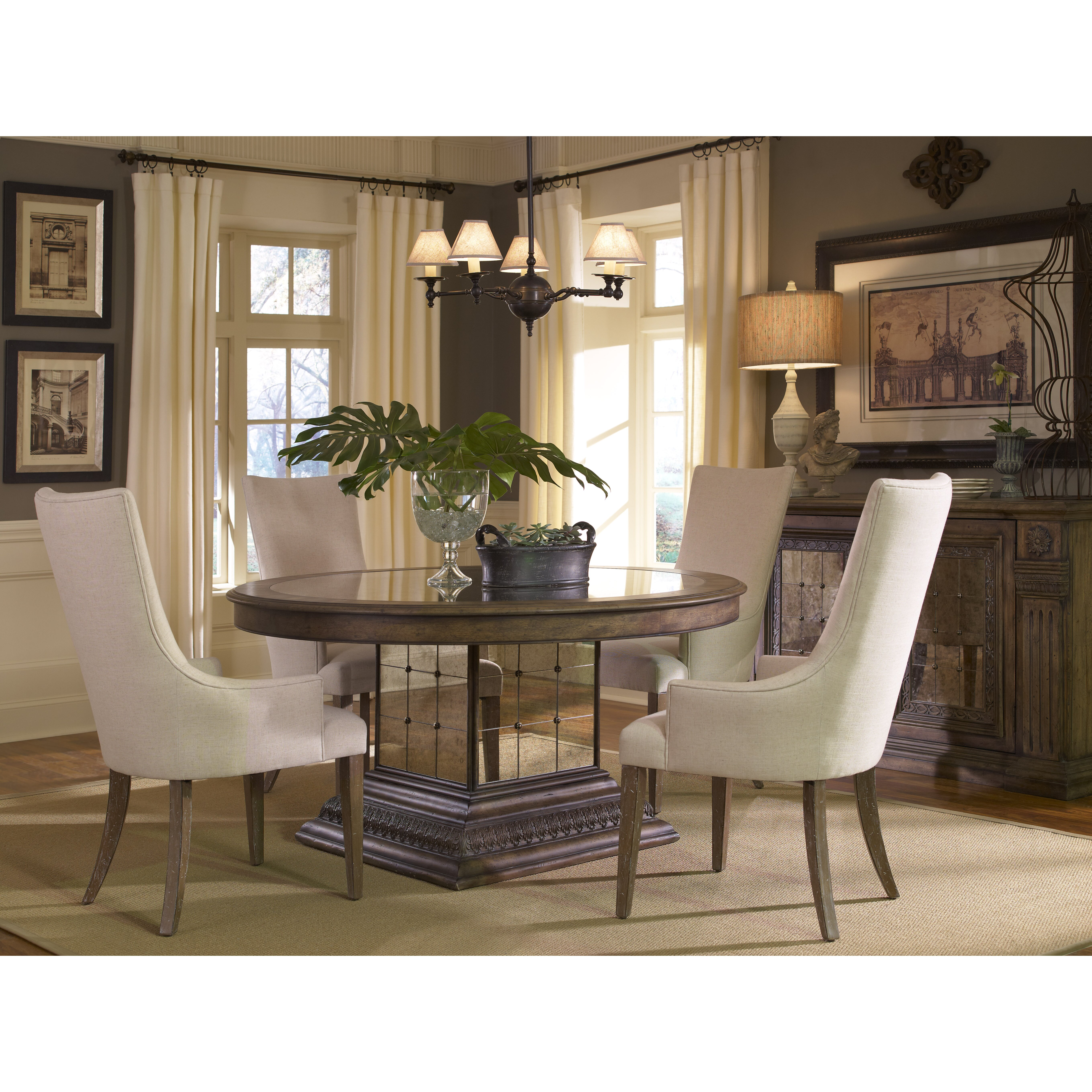 Accentrics by pulaski aphrodite 5 piece dining set reviews wayfair - Pulaski dining room ...