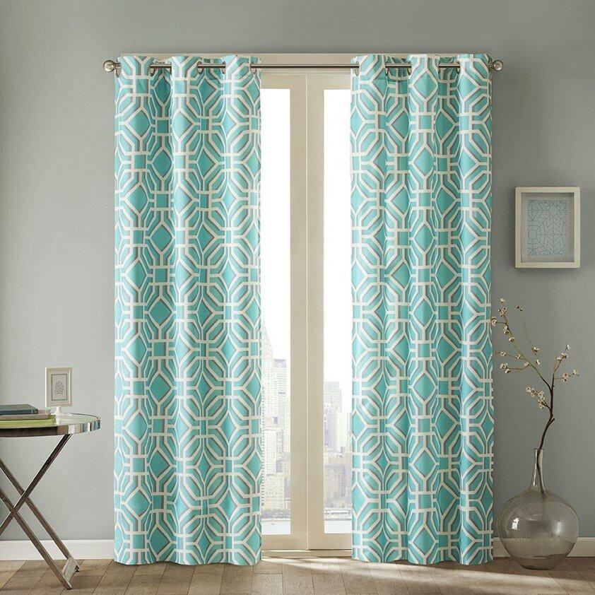 intelligent design maci single curtain panel reviews