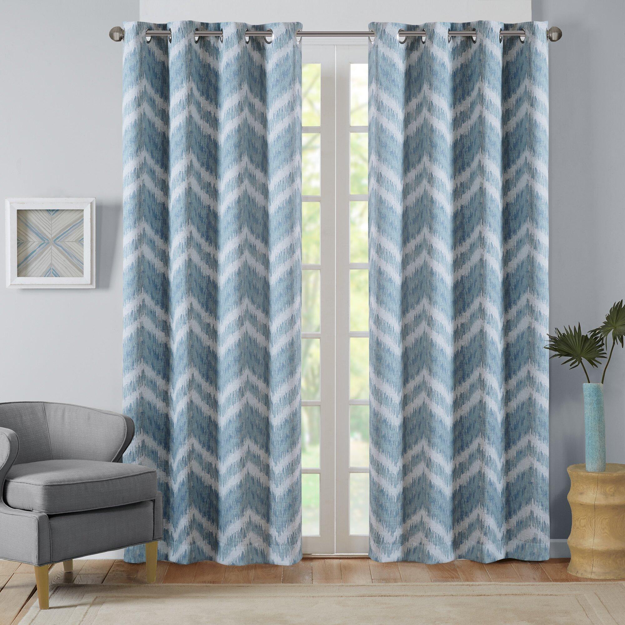 Intelligent Design Seto Blackout Single Curtain Panel