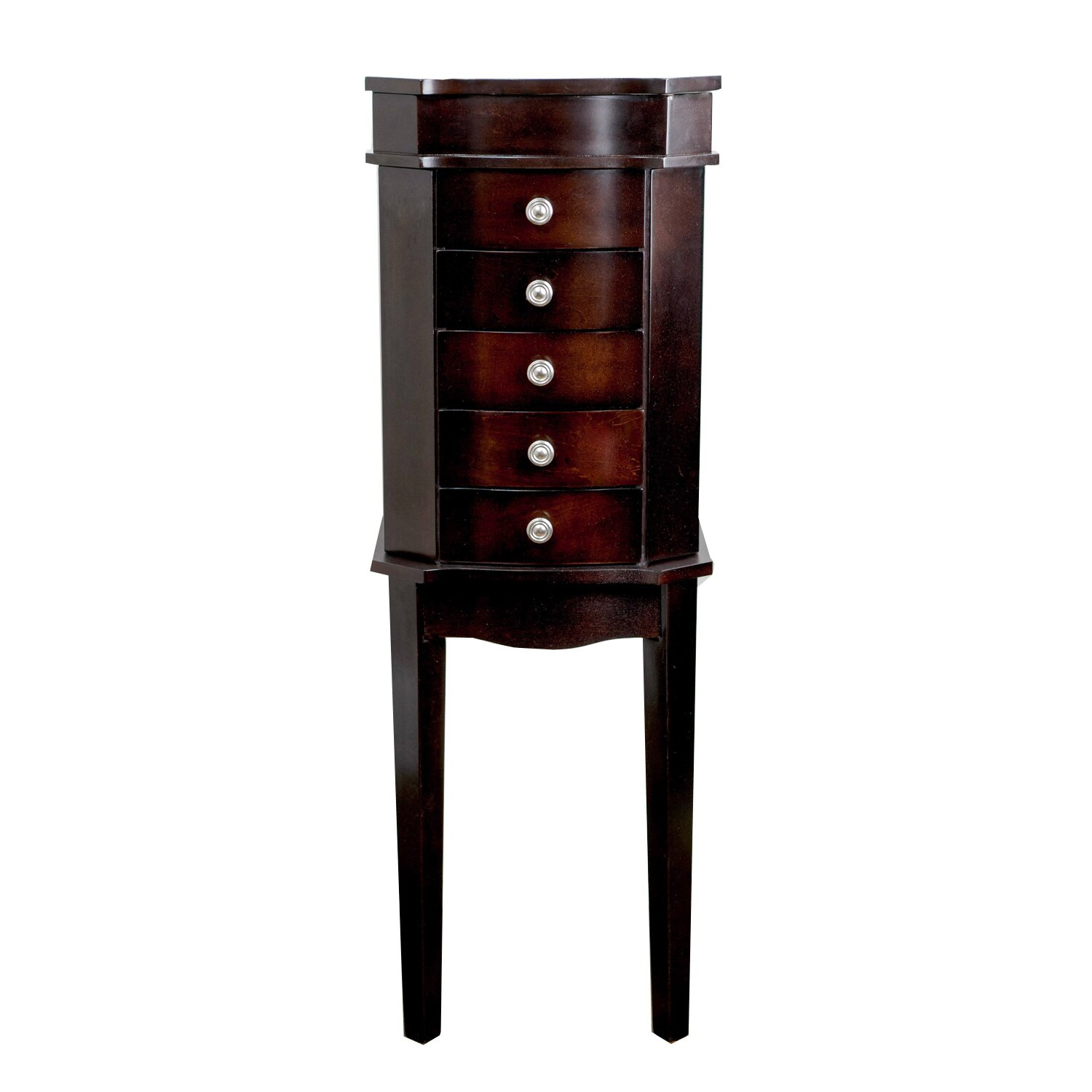 Hives & Honey Meg Jewelry Armoire with Mirror & Reviews ...