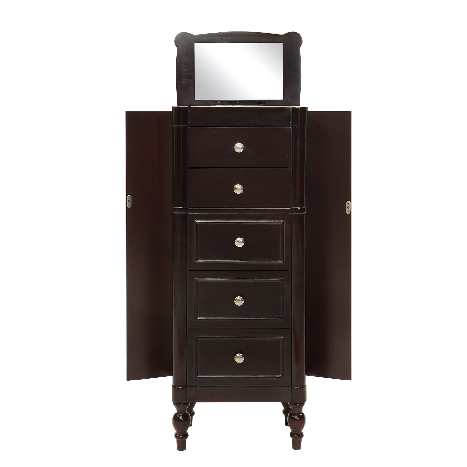 Hives Honey Ella Jewelry Armoire With Mirror Reviews