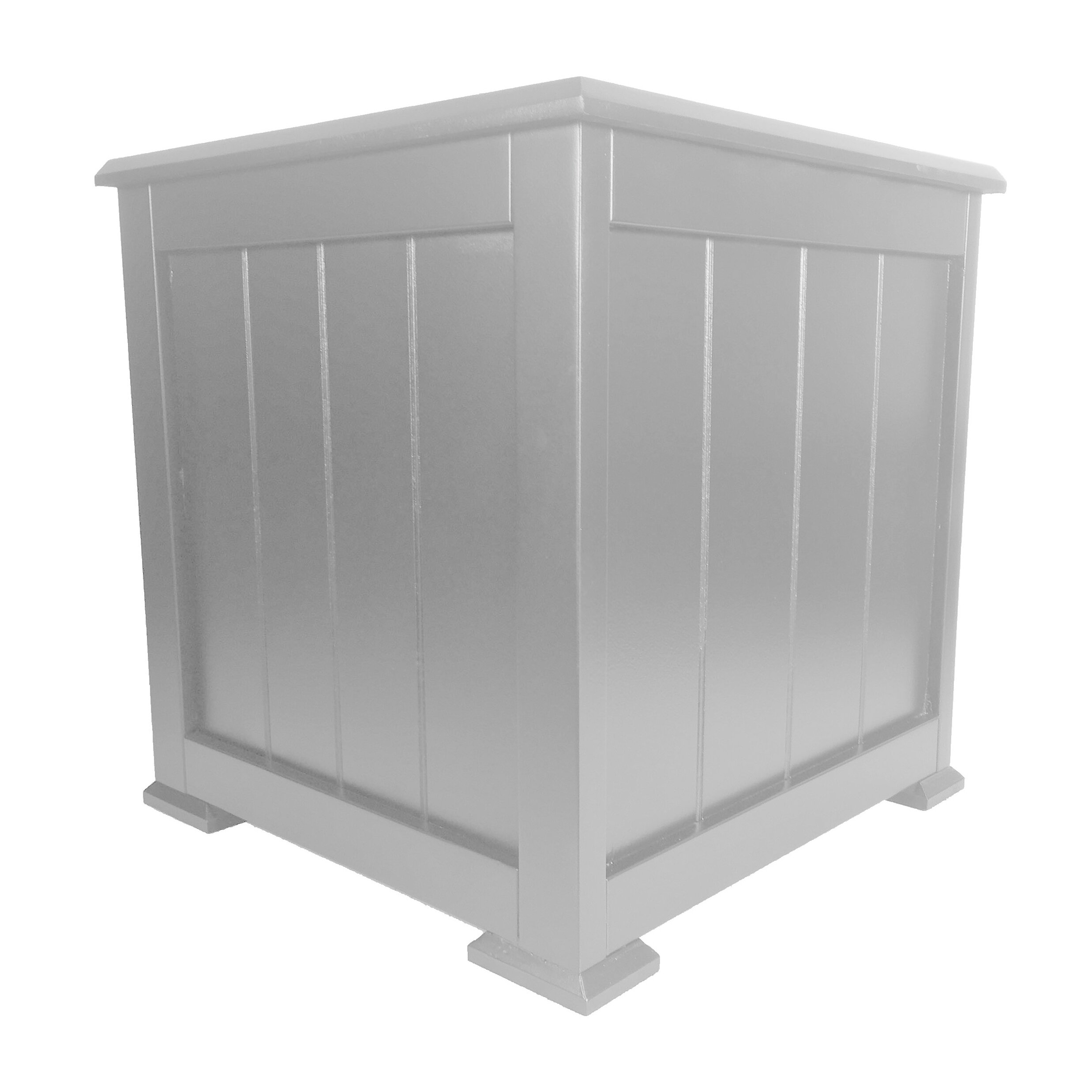 Shutters by design square planter box for Wayfair garden box