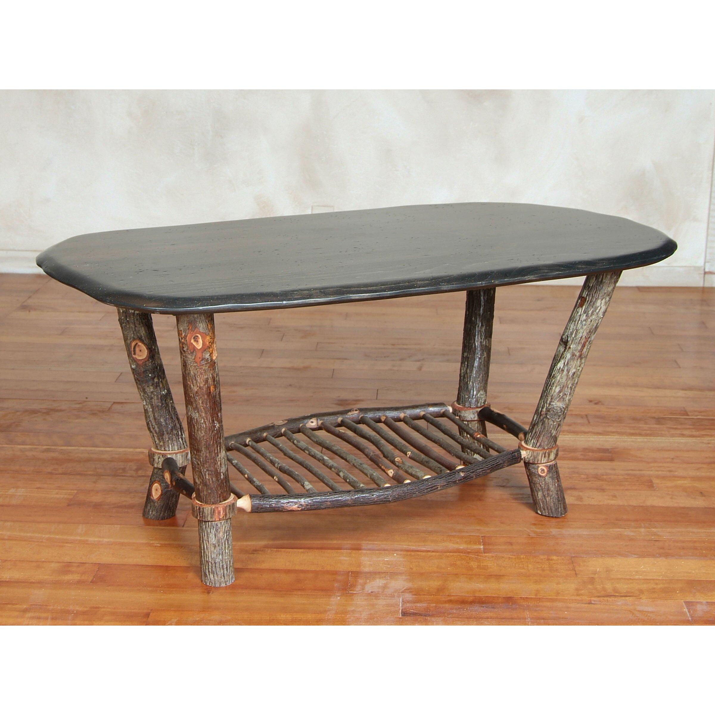 Flat rock furniture spiro coffee table wayfair for Flat furniture