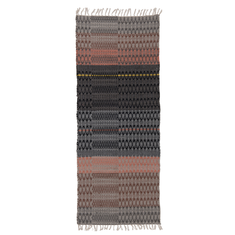 Ian Snow Handgewebter Teppich in Bunt von {manufacturer