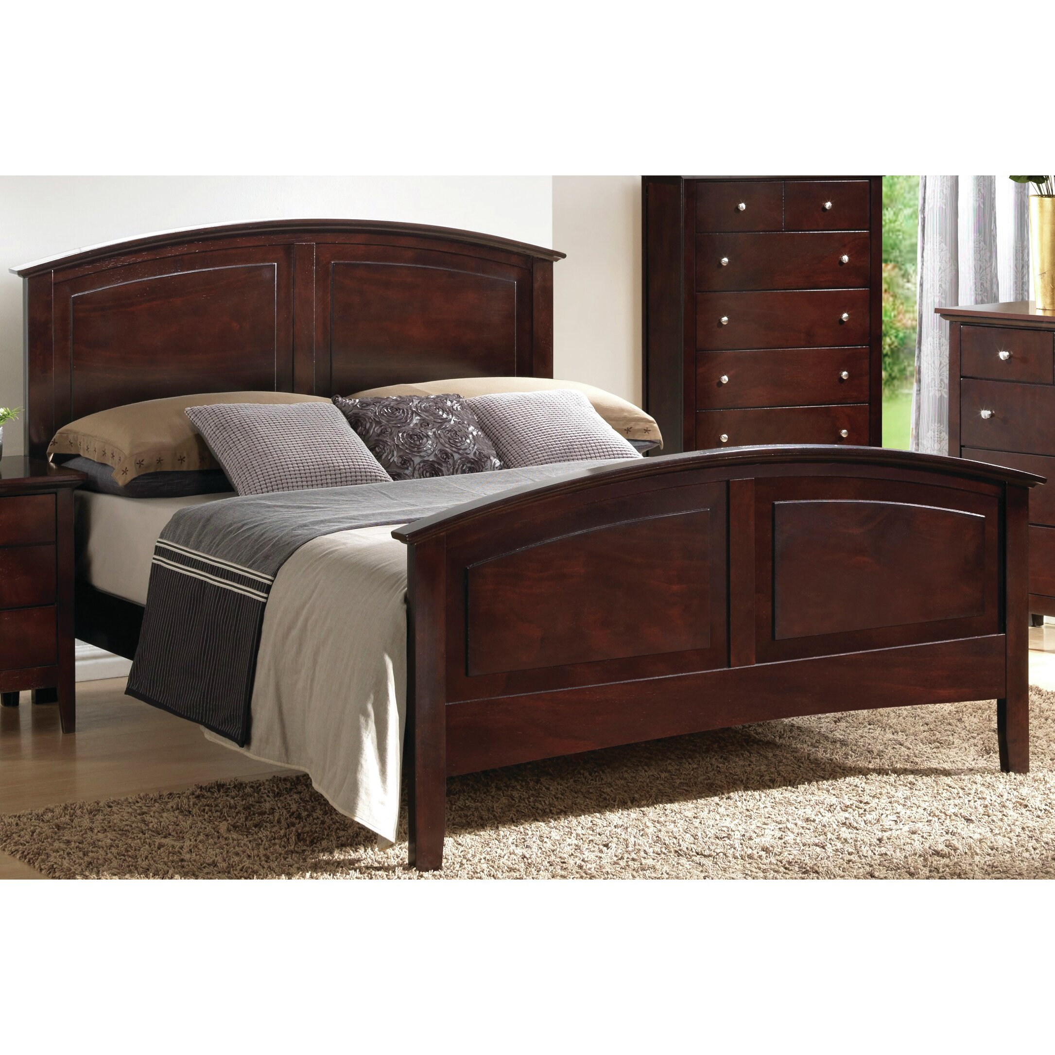 Just Cabinets Brooks Queen Panel Customizable Bedroom Set Reviews Wayfair
