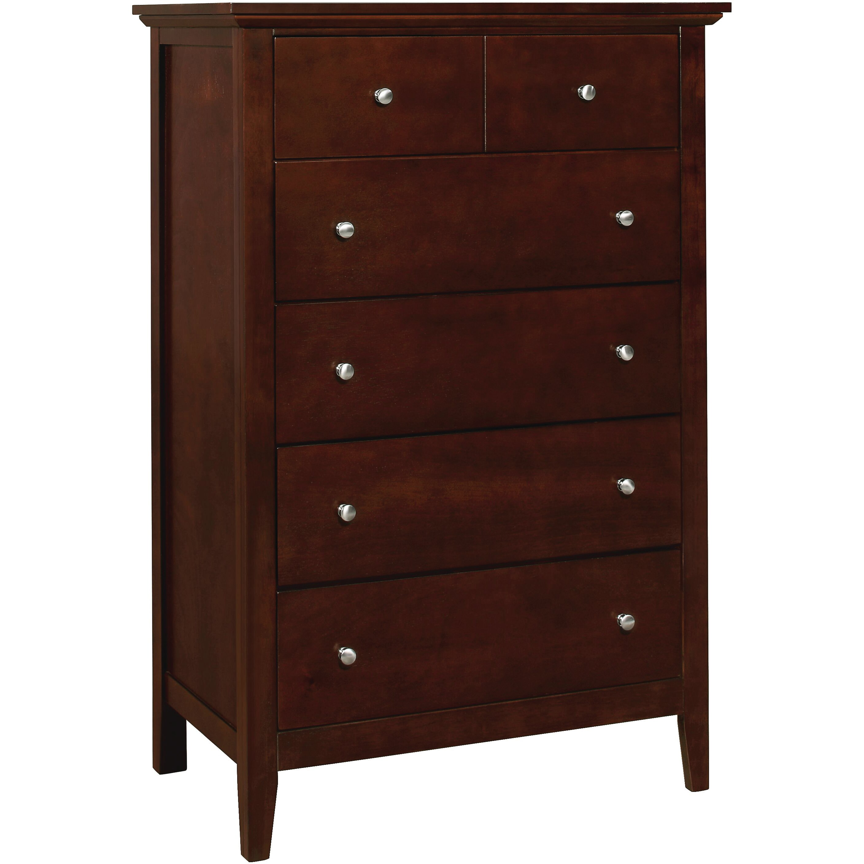 Just Cabinets Brooks 5 Drawer Chest Reviews Wayfair