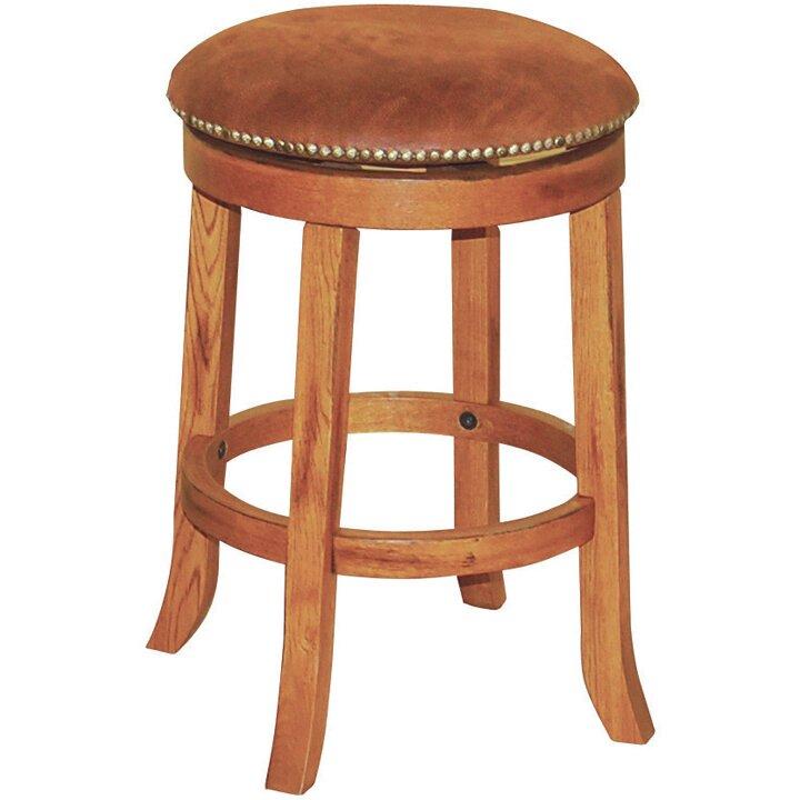 Just Cabinets Sedona 24 Quot Swivel Bar Stool Amp Reviews Wayfair