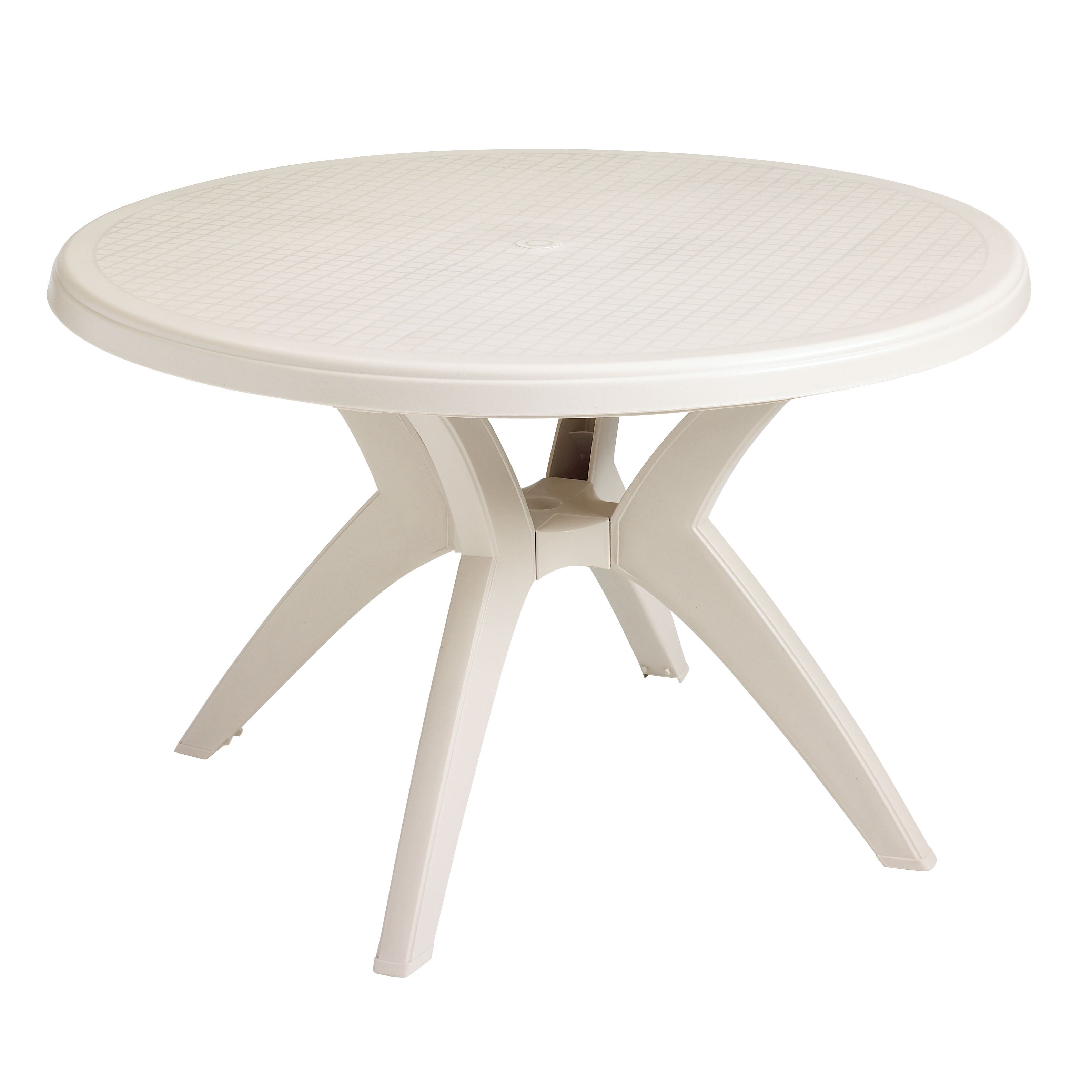 Grosfillex Commercial Resin Furniture Ibiza Dining Table