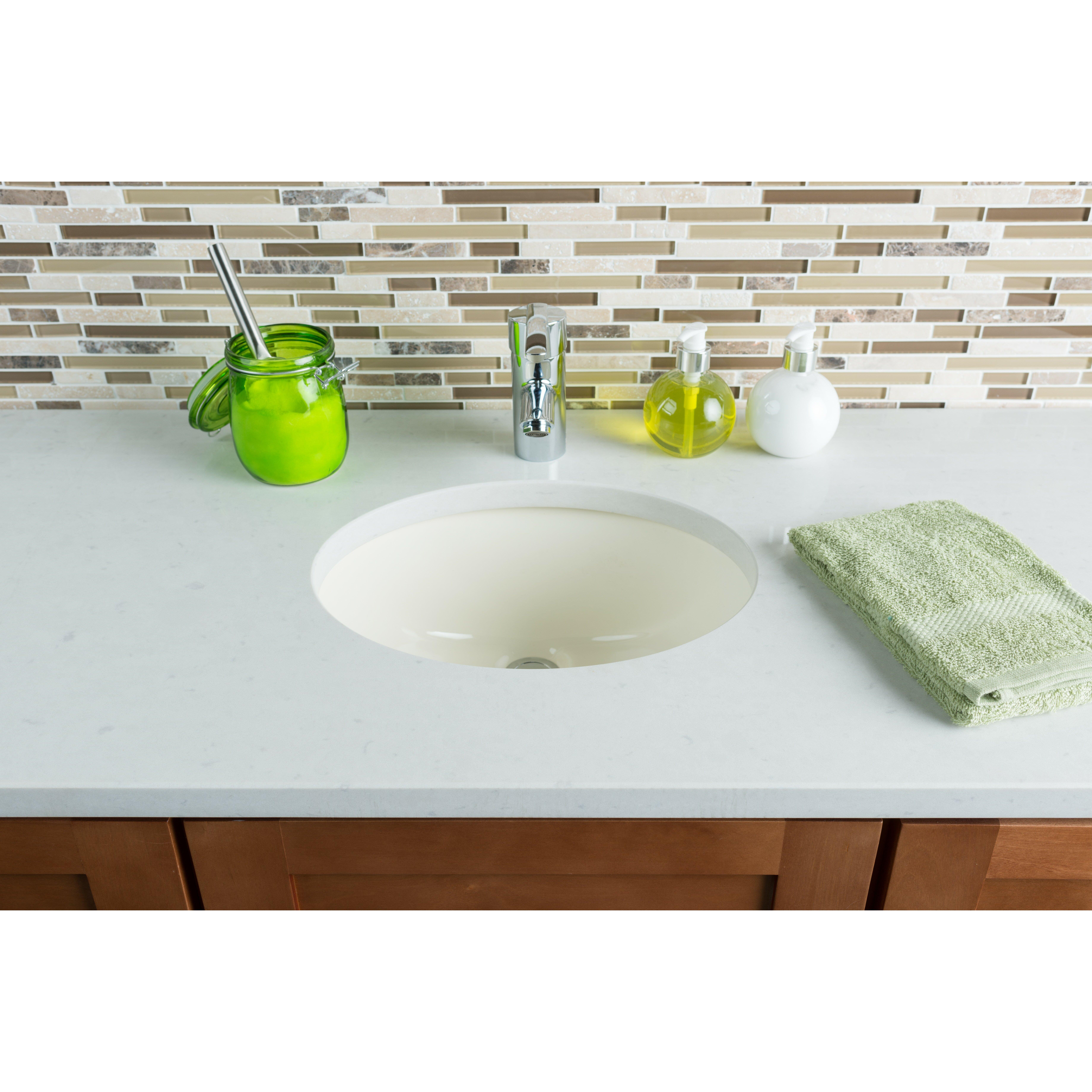 Hahn Ceramic Bowl Bathroom Sink & Reviews