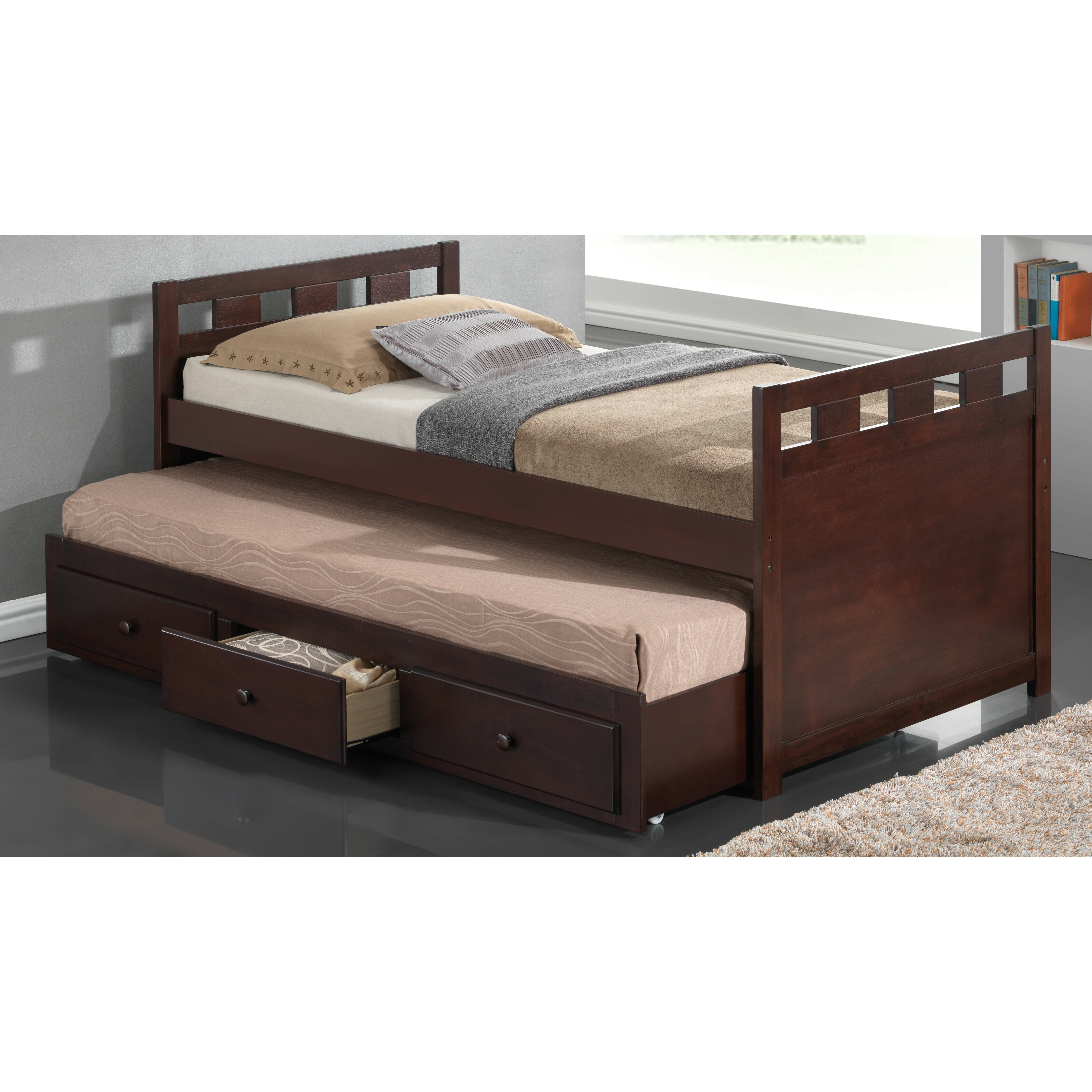 Broyhill Kids Breckenridge Twin Captain Bed With Trundle