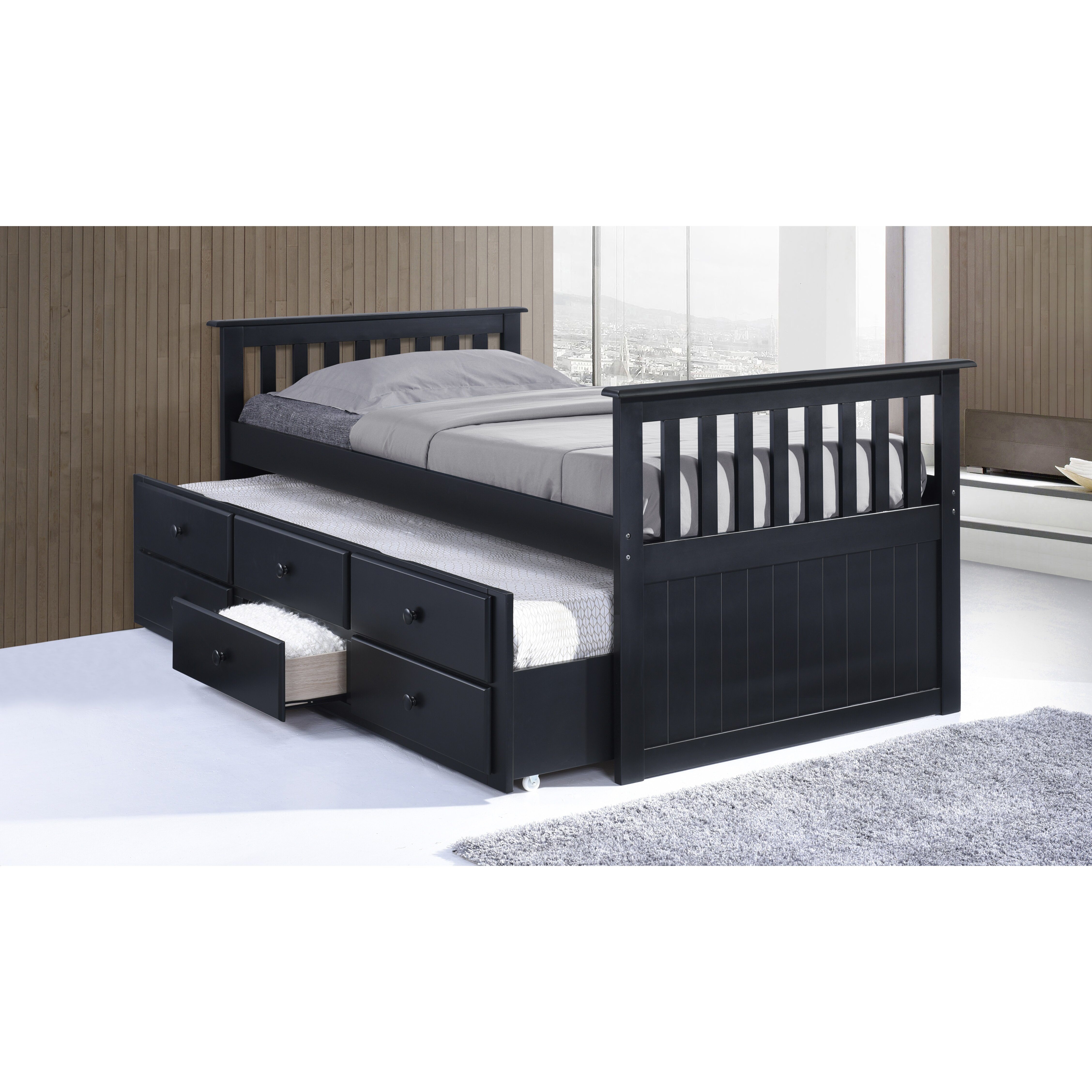 trundle bed with drawers broyhill marco island captain s bed with trundle bed 17578