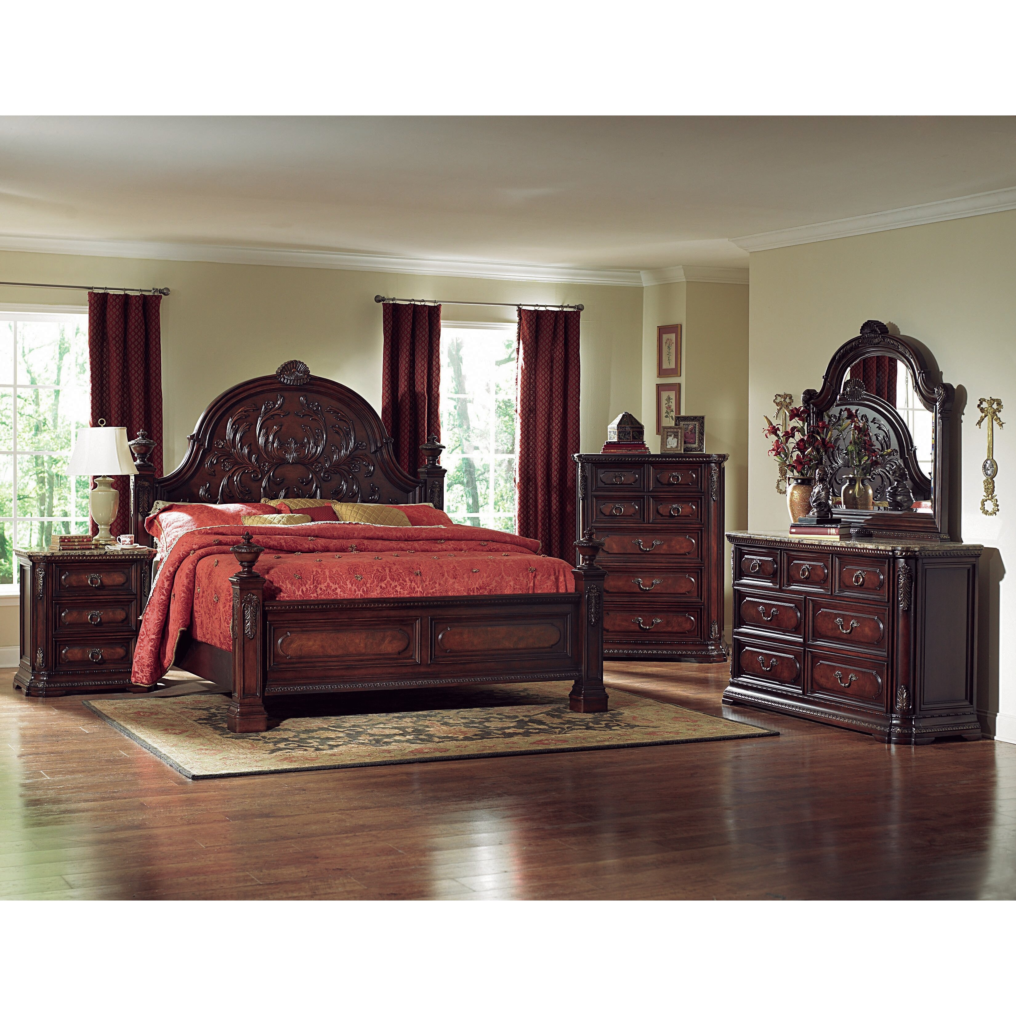 Woodbridge Home Designs Furniture Review Woodhaven Hill Spanish Bay Panel Bed Wayfair