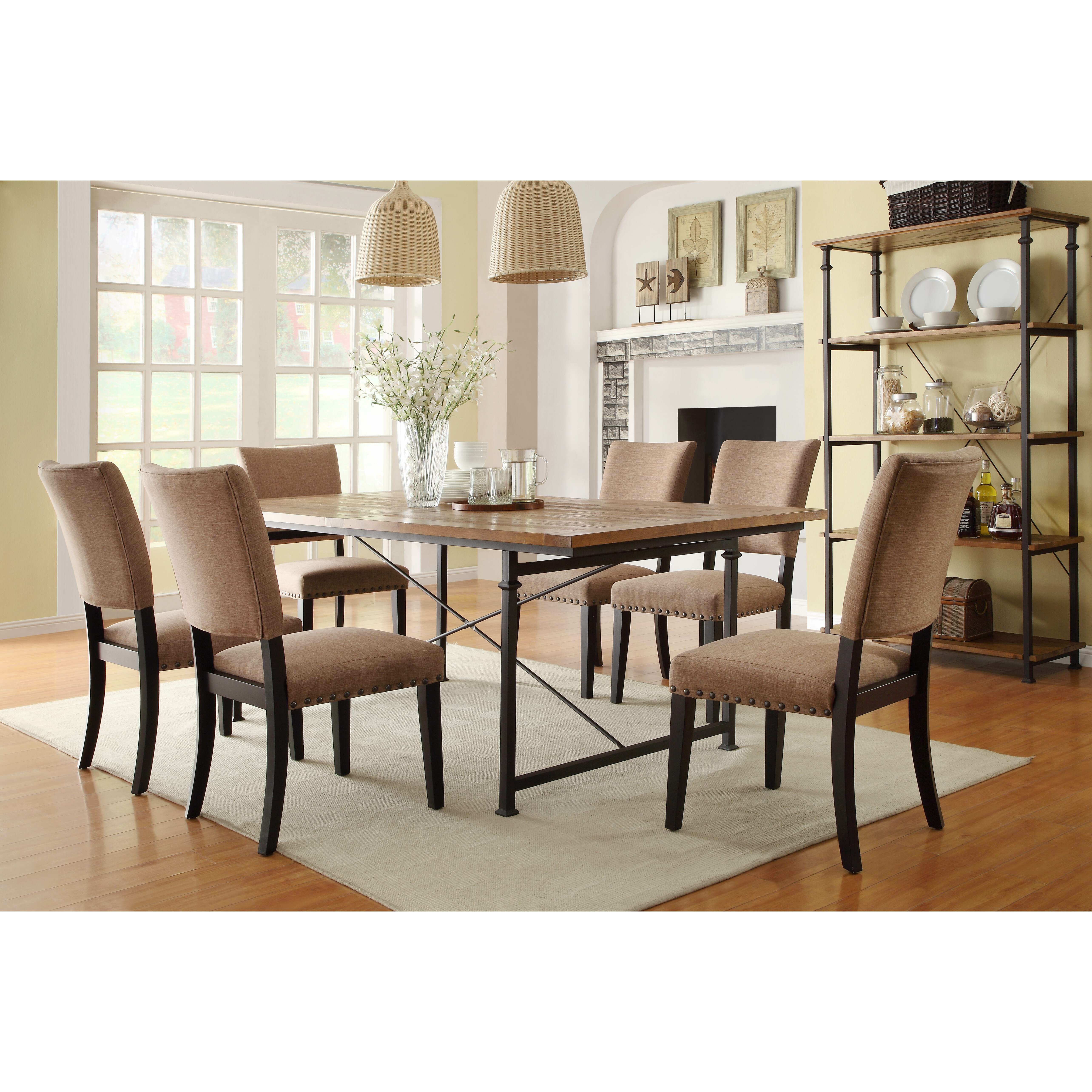 Ultimate Accents Urban 7 Piece Dining Set Reviews: Woodhaven Hill Derry 7 Piece Dining Set & Reviews