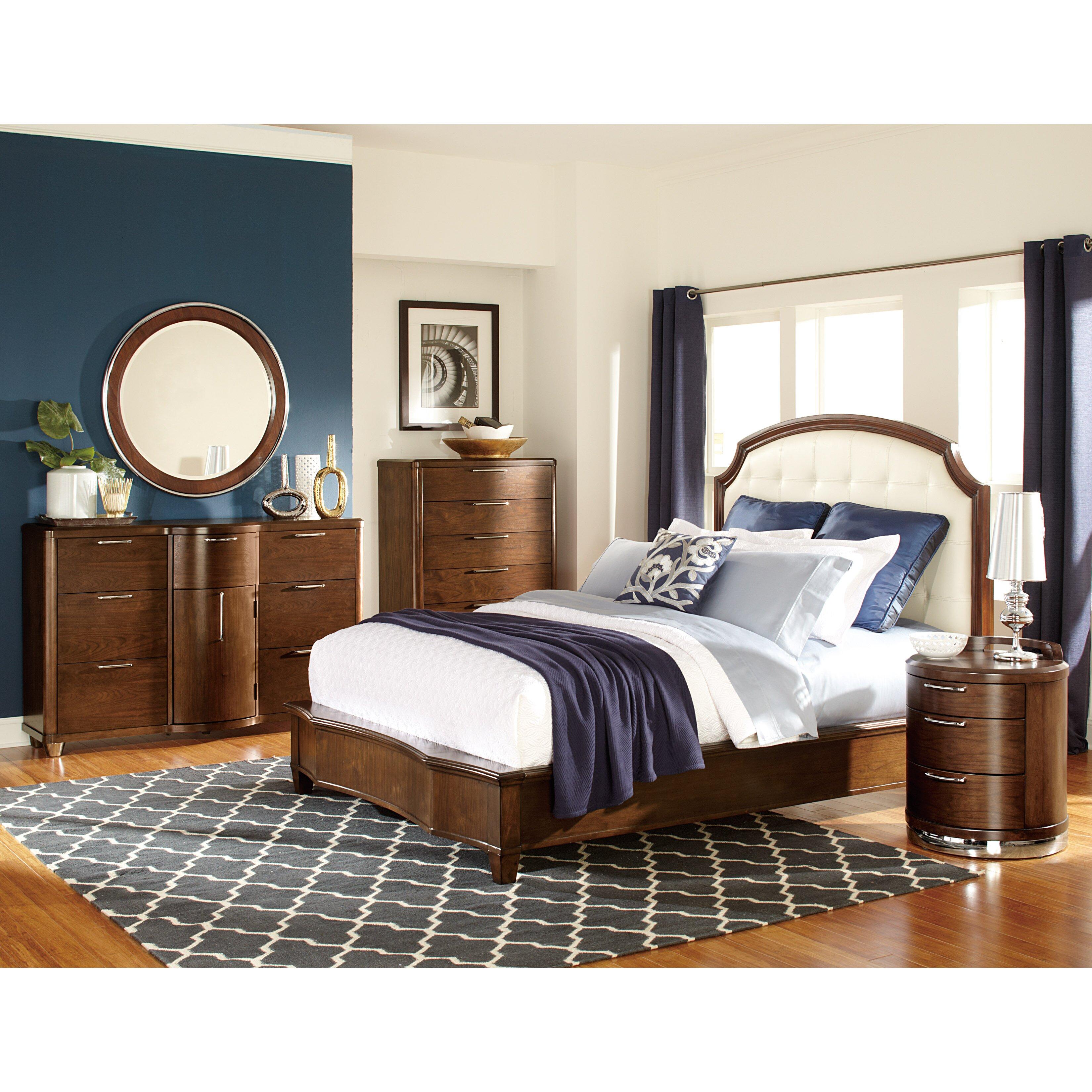Woodhaven Hill Zelda Upholstered Panel Bed Reviews Wayfair