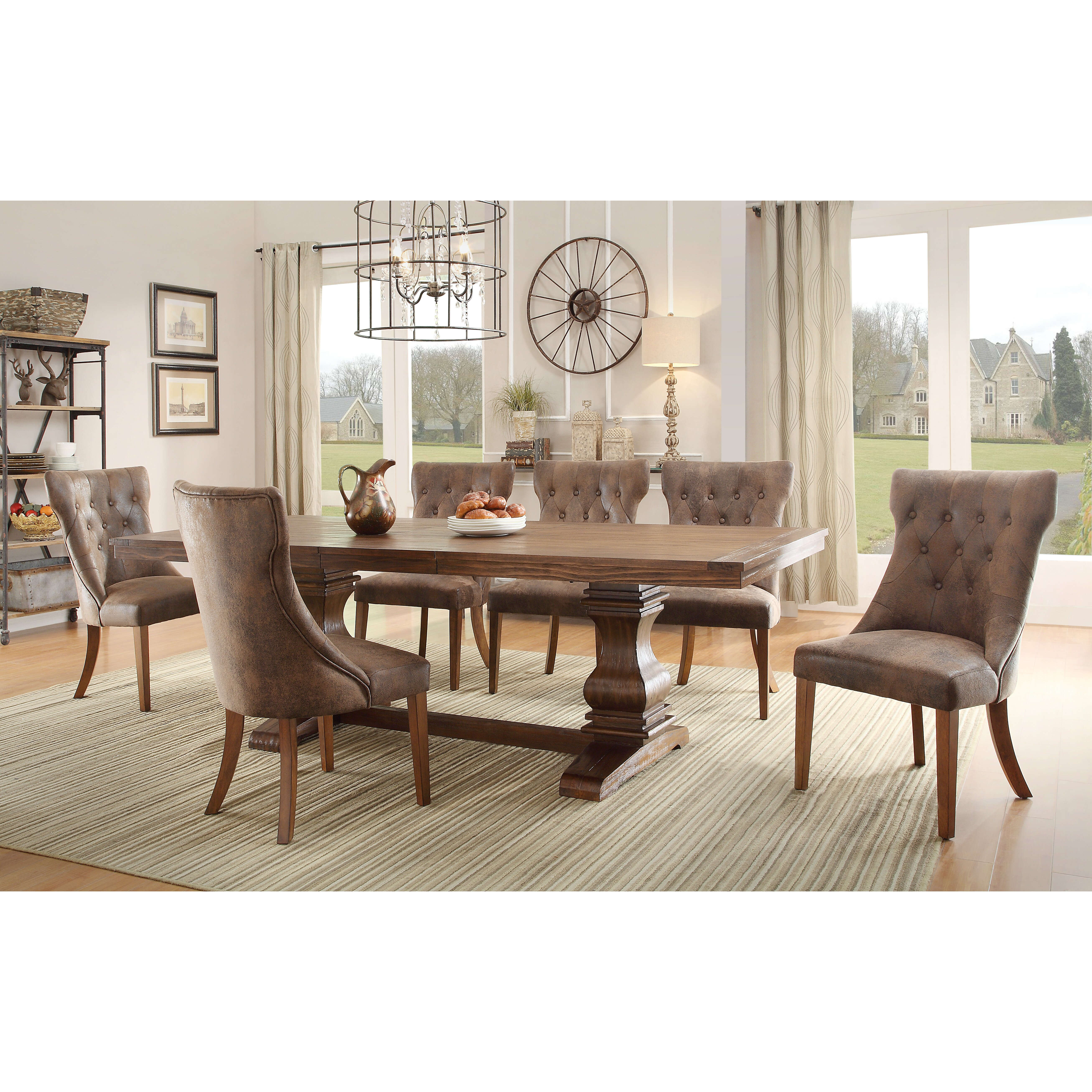 August grove elton extendable dining table reviews wayfair for Wayfair dining table