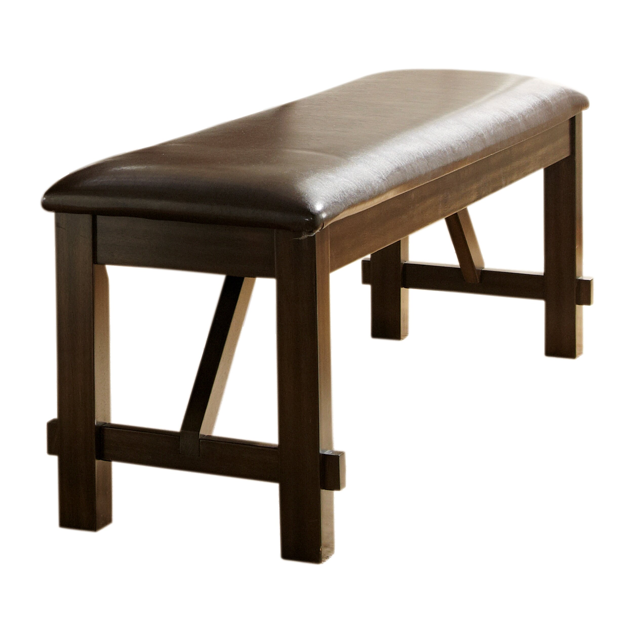 Woodhaven Hill Roy Upholstered Kitchen Bench & Reviews