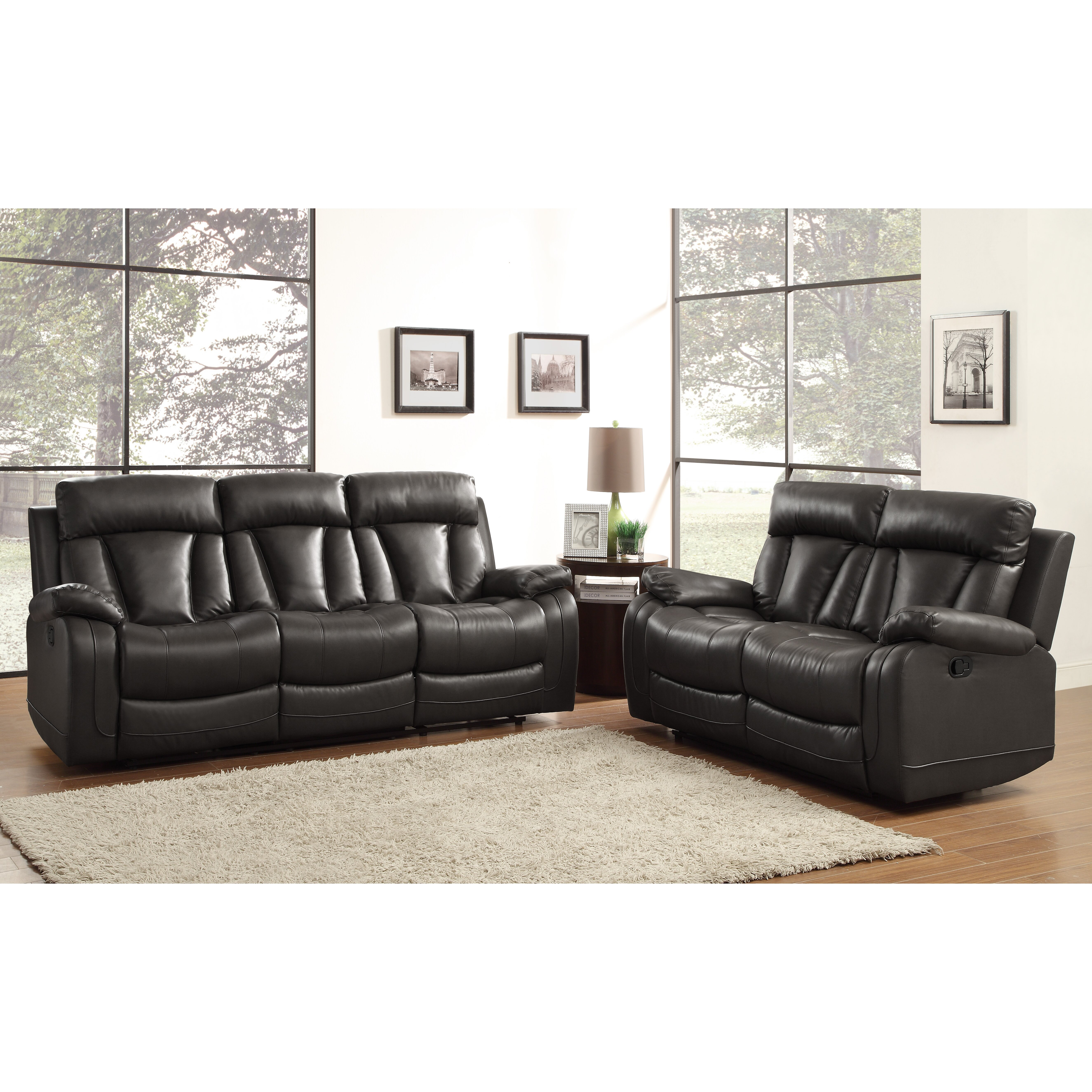 Woodbridge Home Designs Furniture Review Woodhaven Hill Ackerman Double Reclining Loveseat