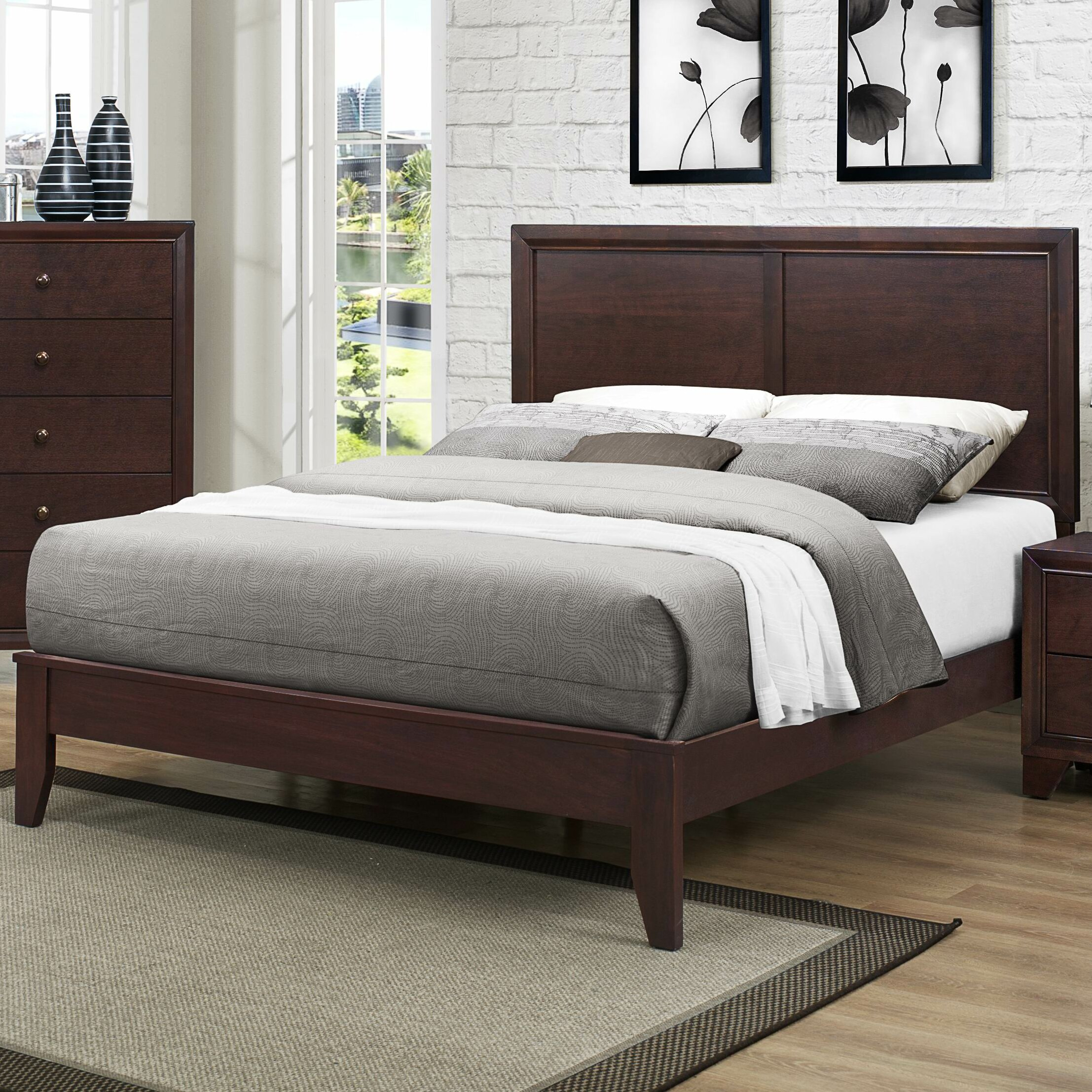Woodhaven Hill Kari Panel Bed & Reviews