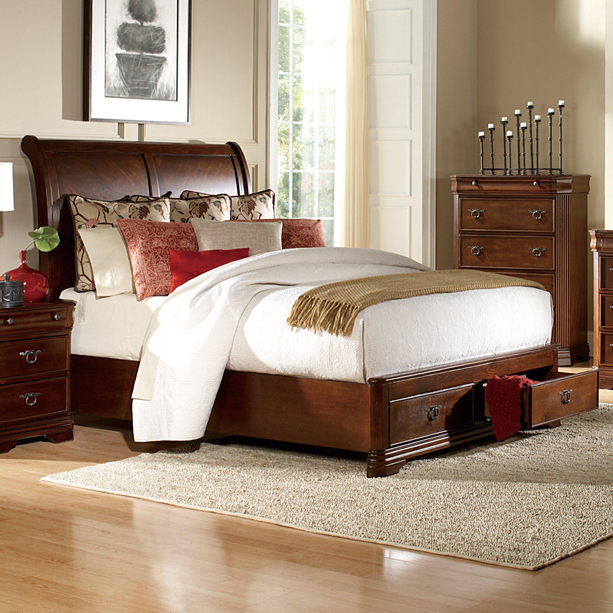 woodhaven hill karla queen platform customizable bedroom set reviews. Black Bedroom Furniture Sets. Home Design Ideas