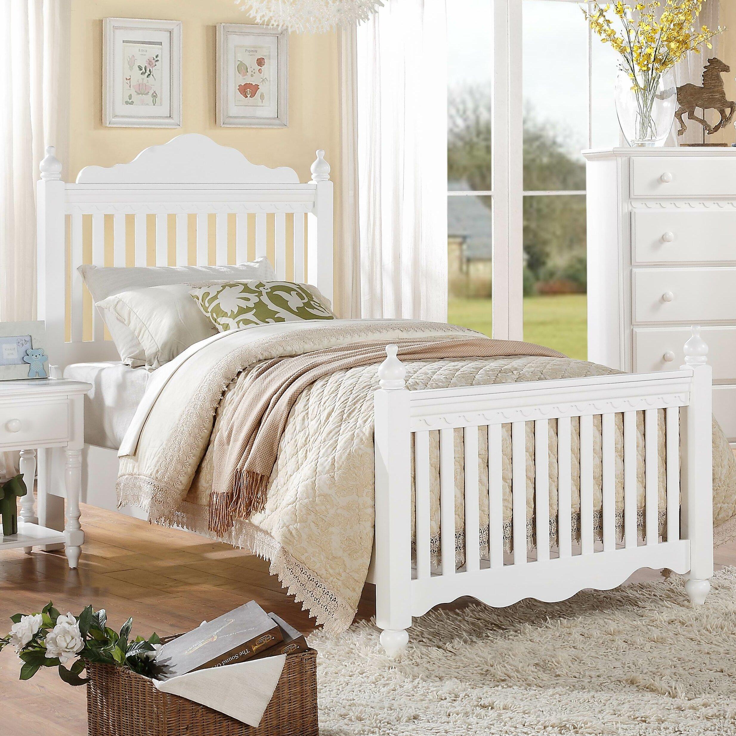 Woodhaven Hill Emmaline Slat Bed Reviews Wayfair