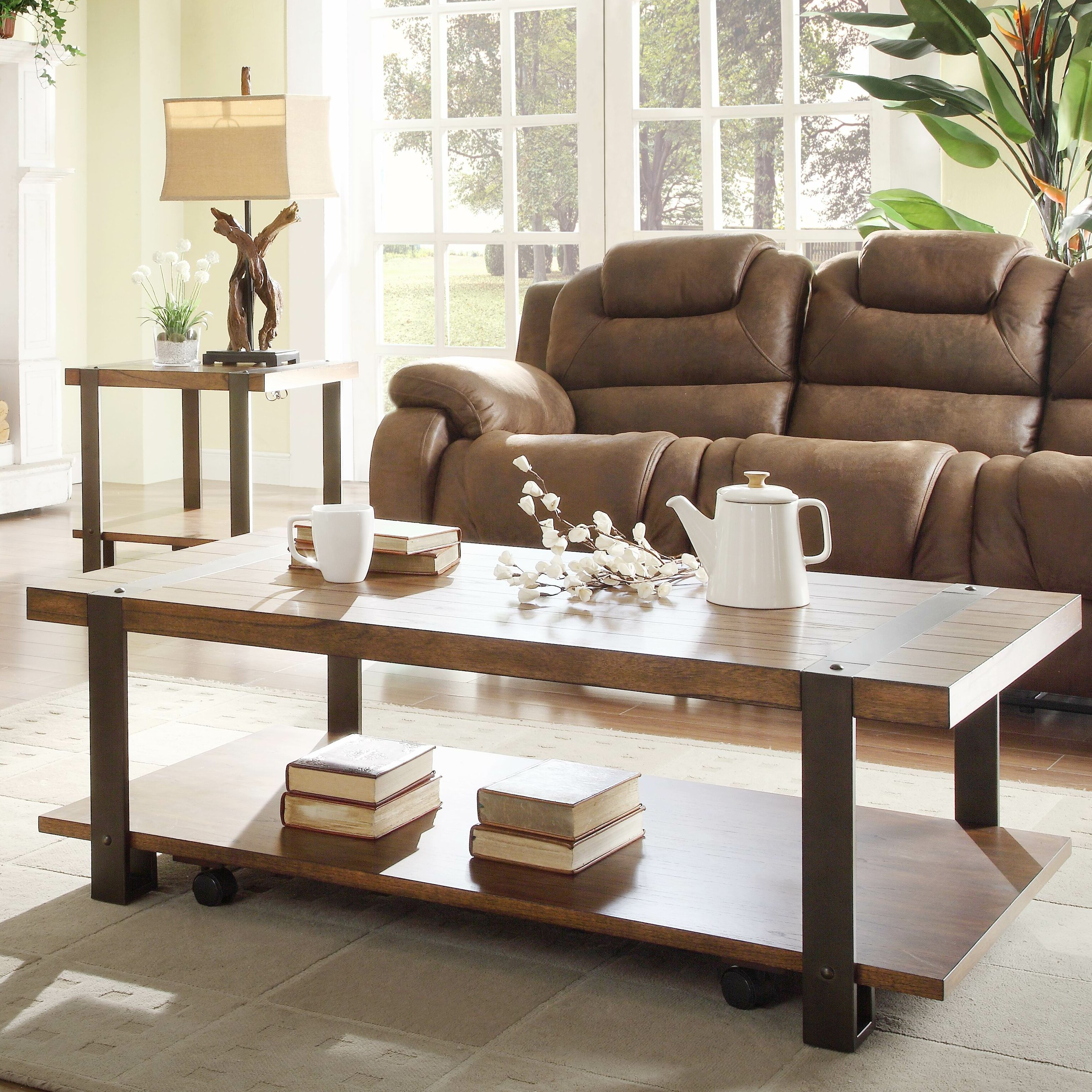 woodhaven hill northwood coffee table wayfair. Black Bedroom Furniture Sets. Home Design Ideas