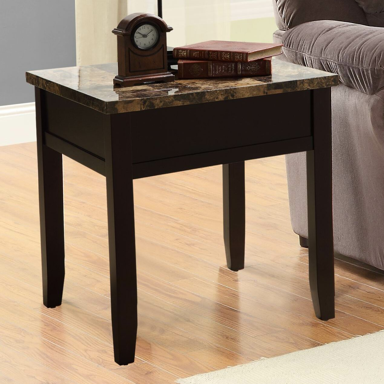 Woodhaven Hill Orton End Table Reviews Wayfair