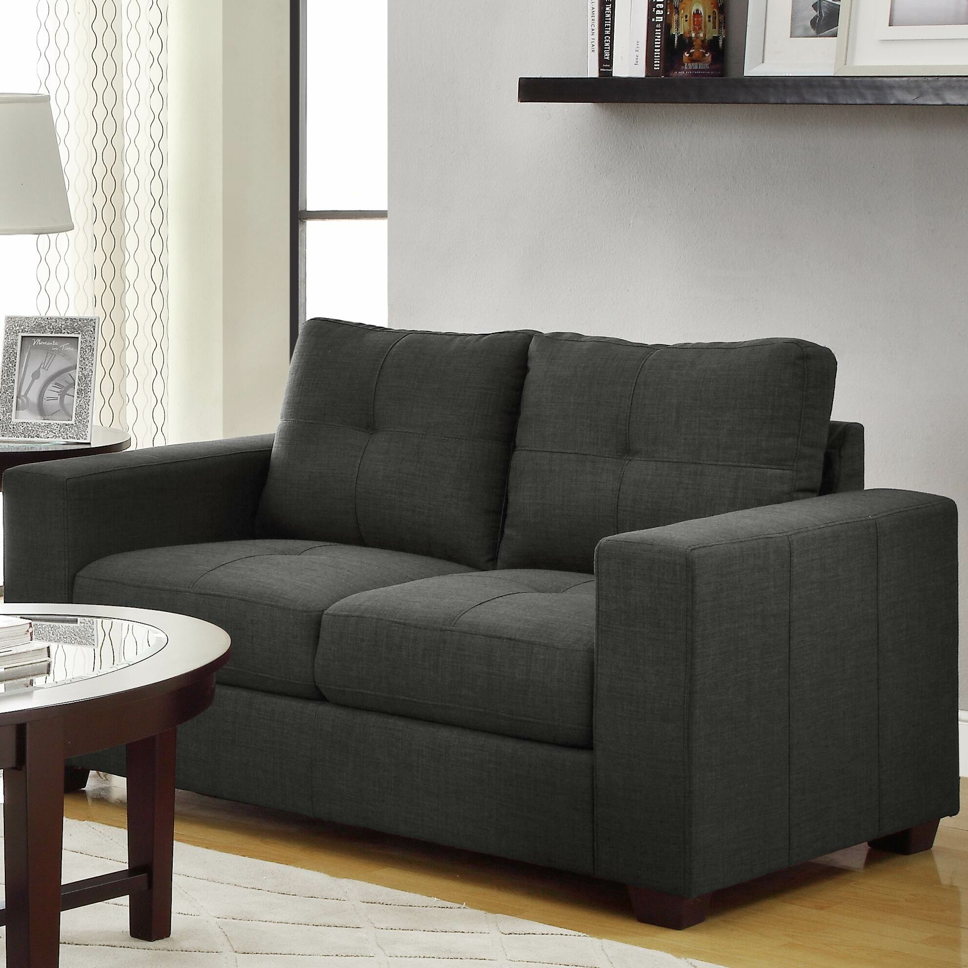 woodhaven hill ashmont living room collection reviews wayfair. Black Bedroom Furniture Sets. Home Design Ideas