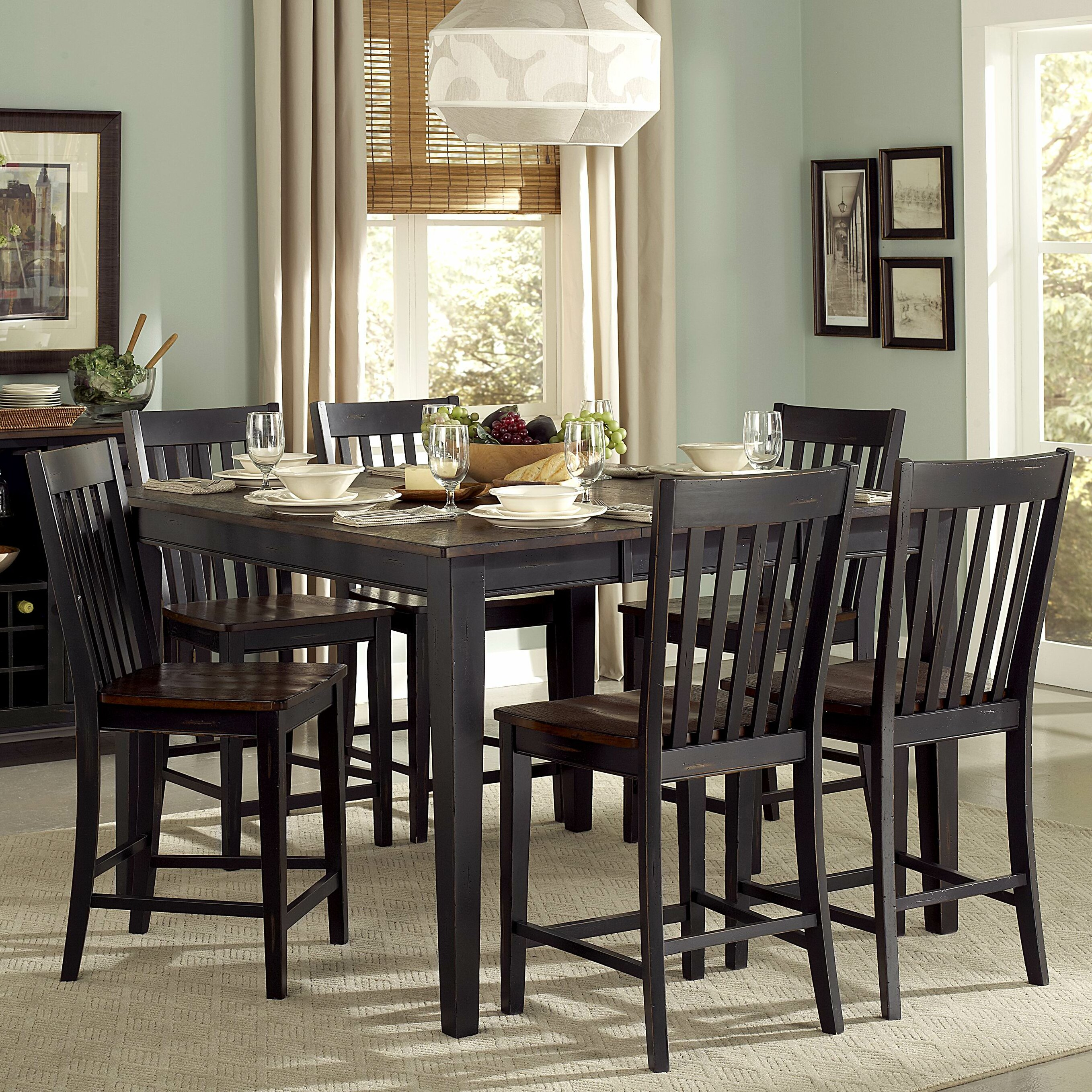 Three posts springwater dining table reviews wayfair
